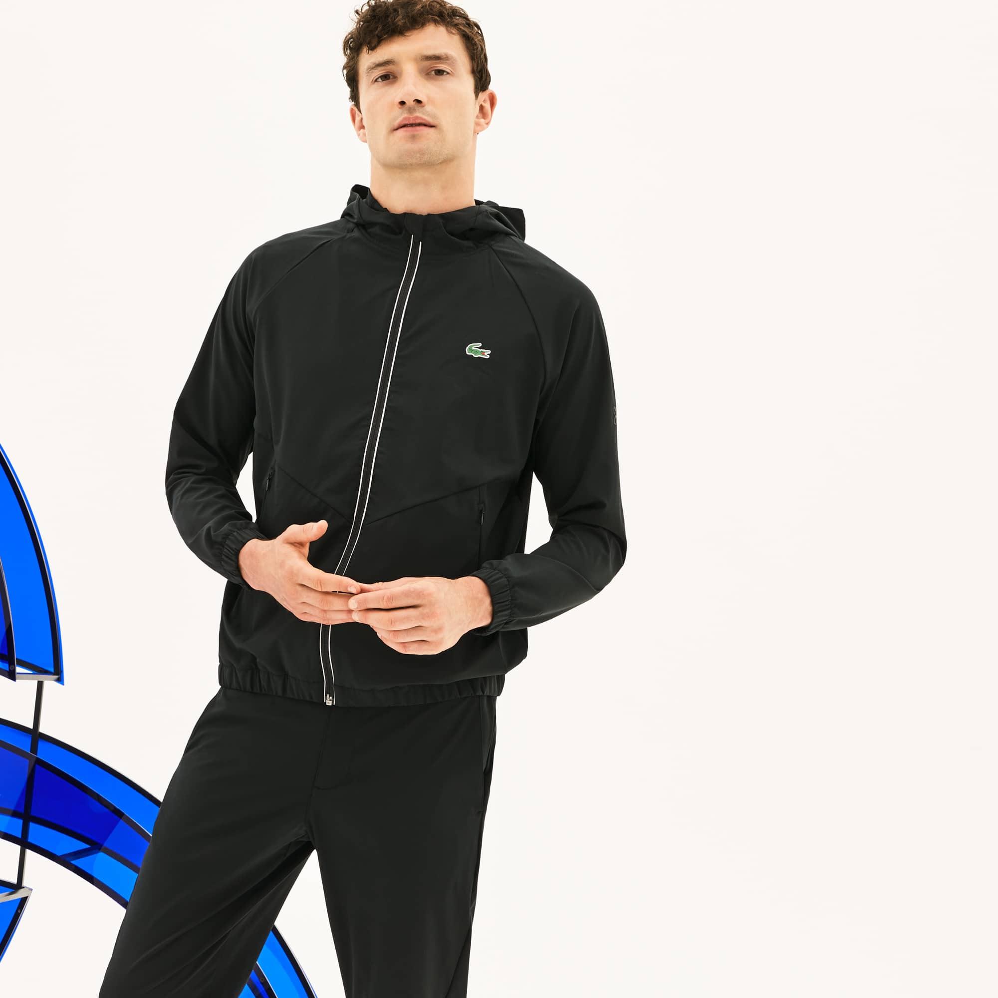 Men's SPORT Hooded Technical Midlayer Jacket -  x Novak Djokovic Off Court Premium Edition
