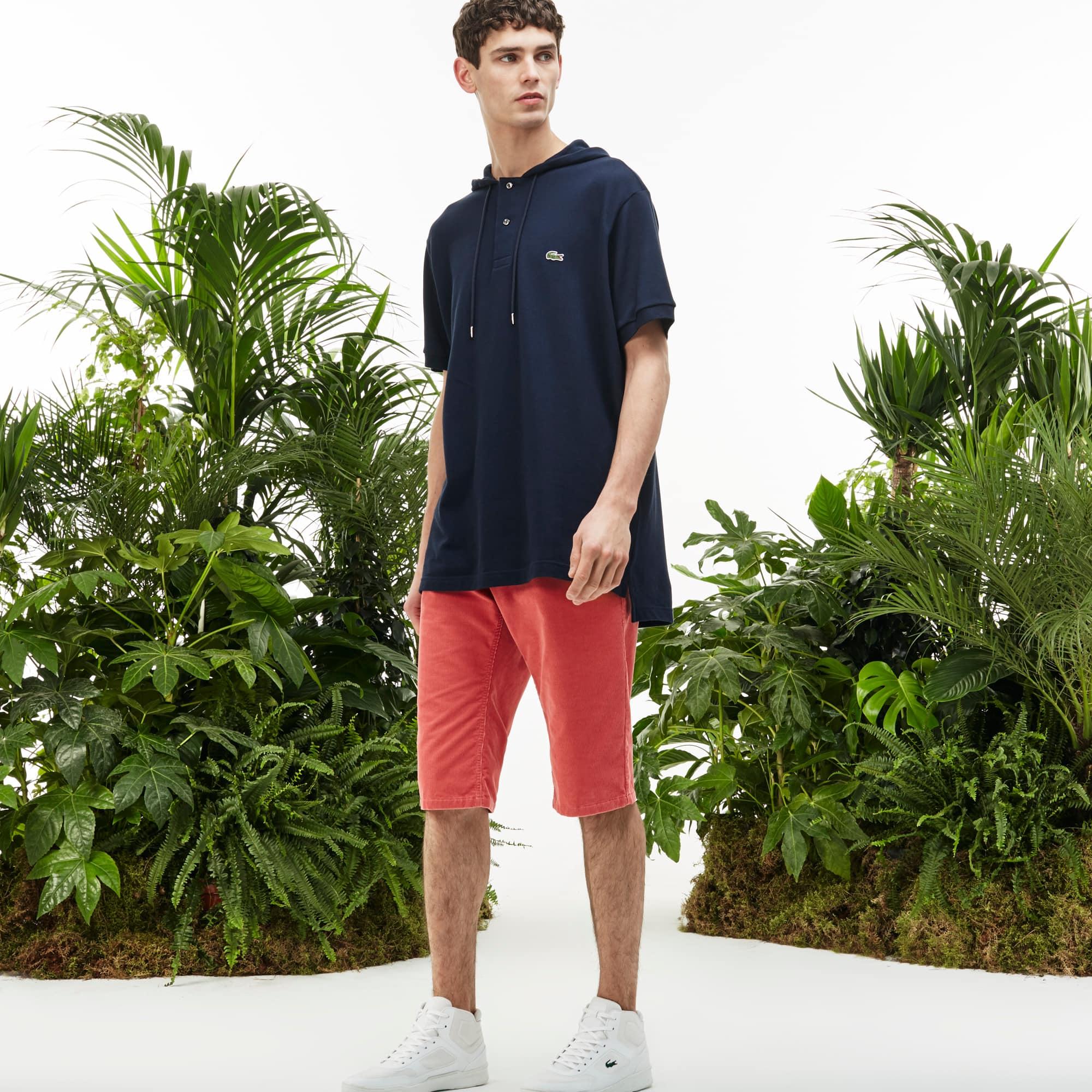 Men's Fashion Show Corduroy Bermudas
