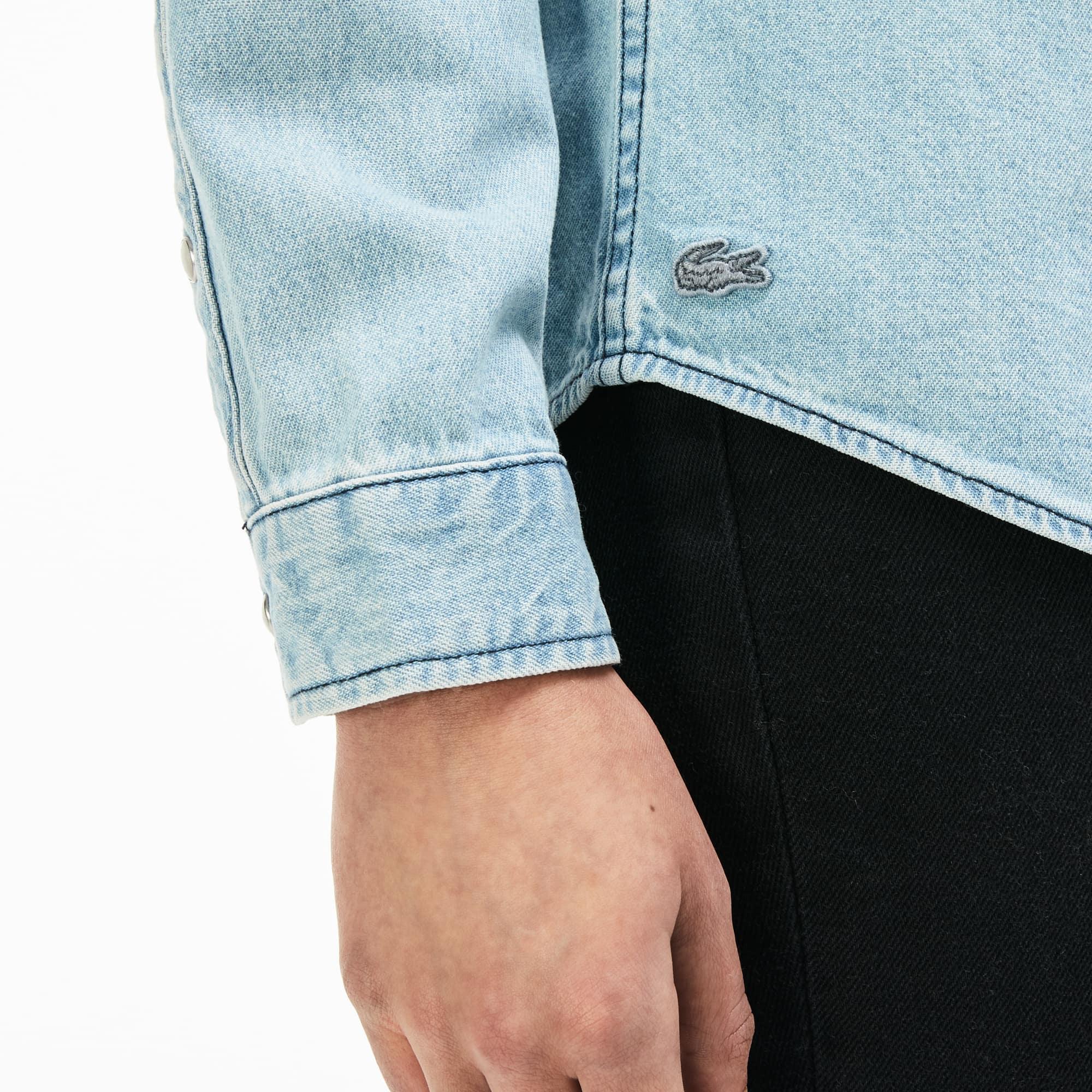 865ab19685b Women s LIVE Slim Fit Western Pockets Denim Shirt
