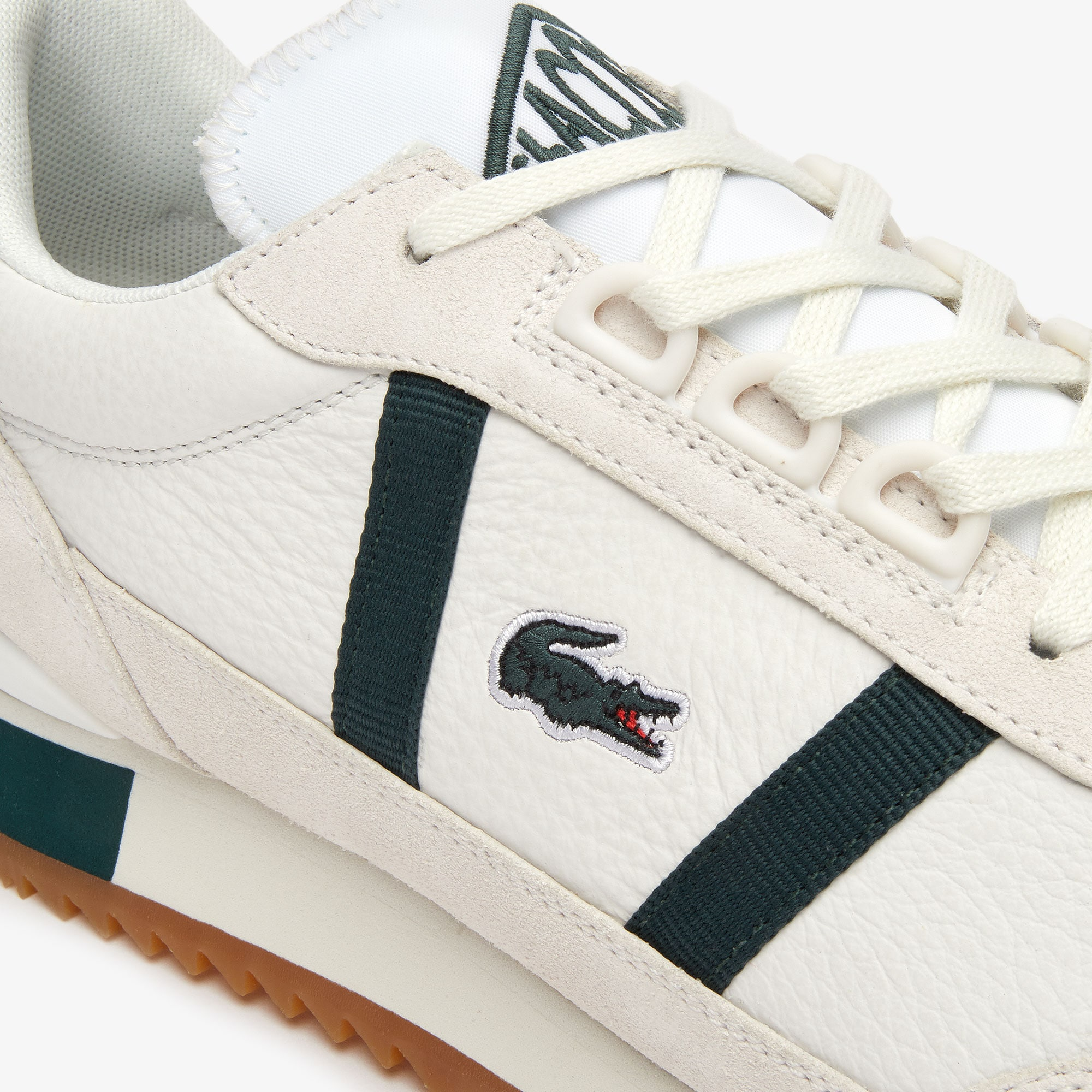 Women's Partner Retro Leather and Suede Trainers
