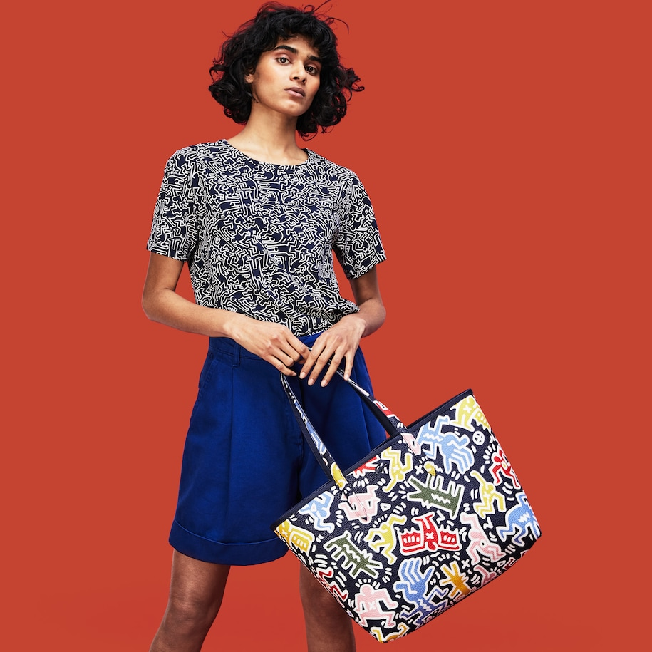 Women's Keith Haring Anna Reversible Tote Bag