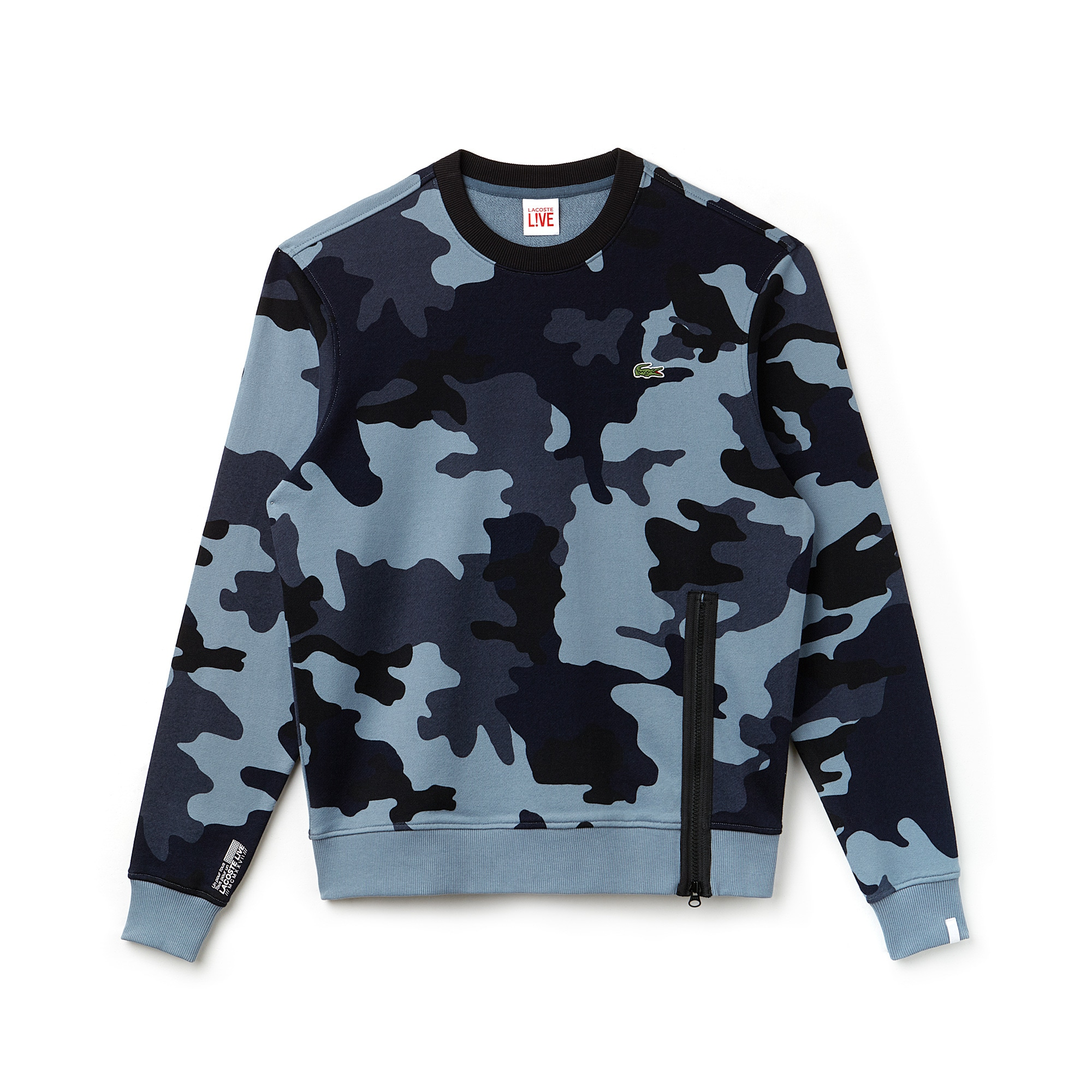 Men's LIVE Camouflage Fleece Sweatshirt