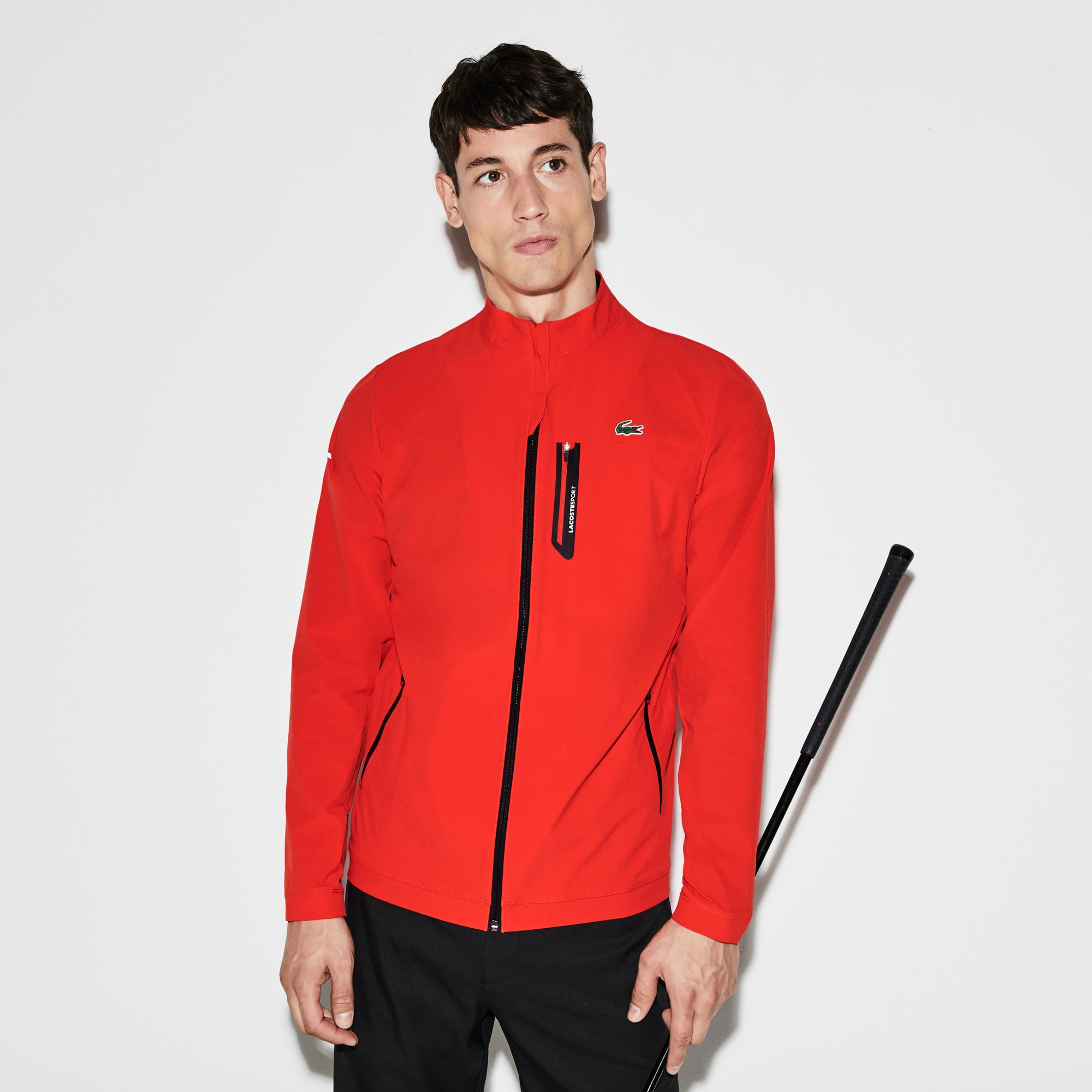 Men's  SPORT Technical Taffeta Zip Golf Jacket