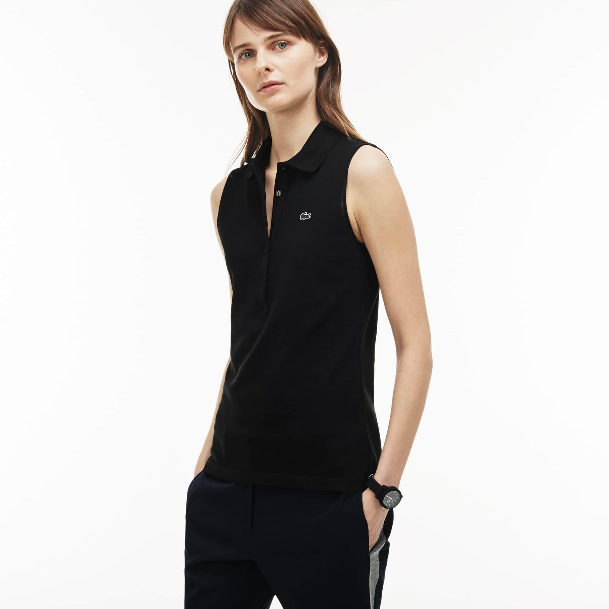 Women's Stretch Mini Piqué Polo Shirt