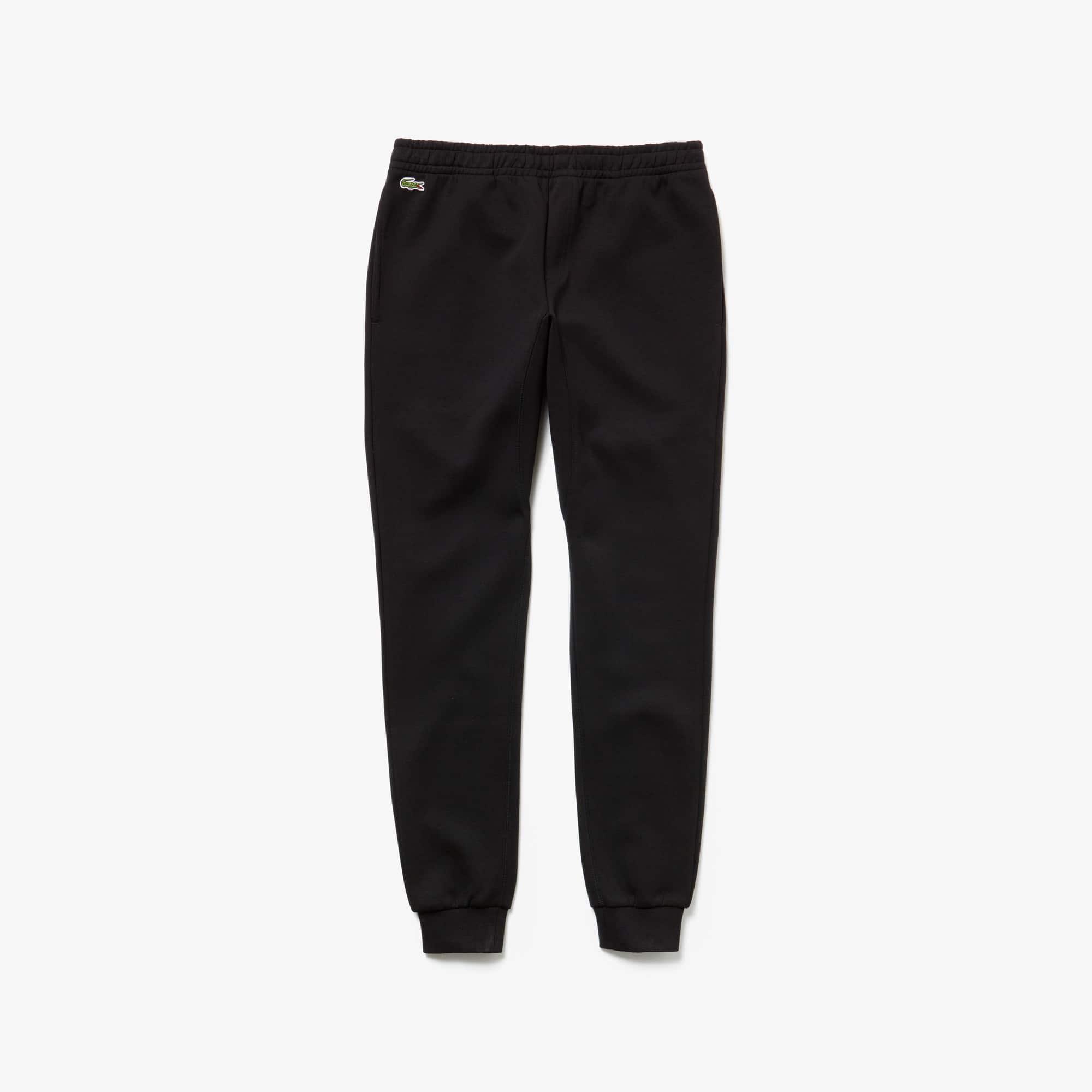 라코스테 스포츠 트랙 팬츠 MensLacoste SPORT Tennis Fleece Trackpants,black