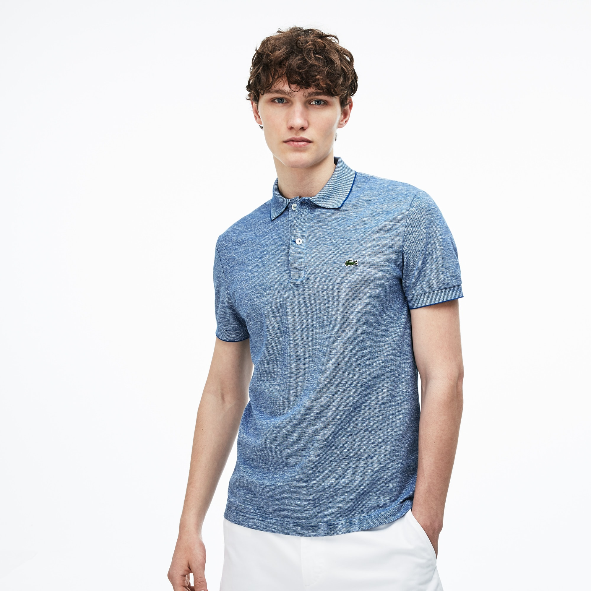 Men's Regular Fit Caviar Piqué Polo