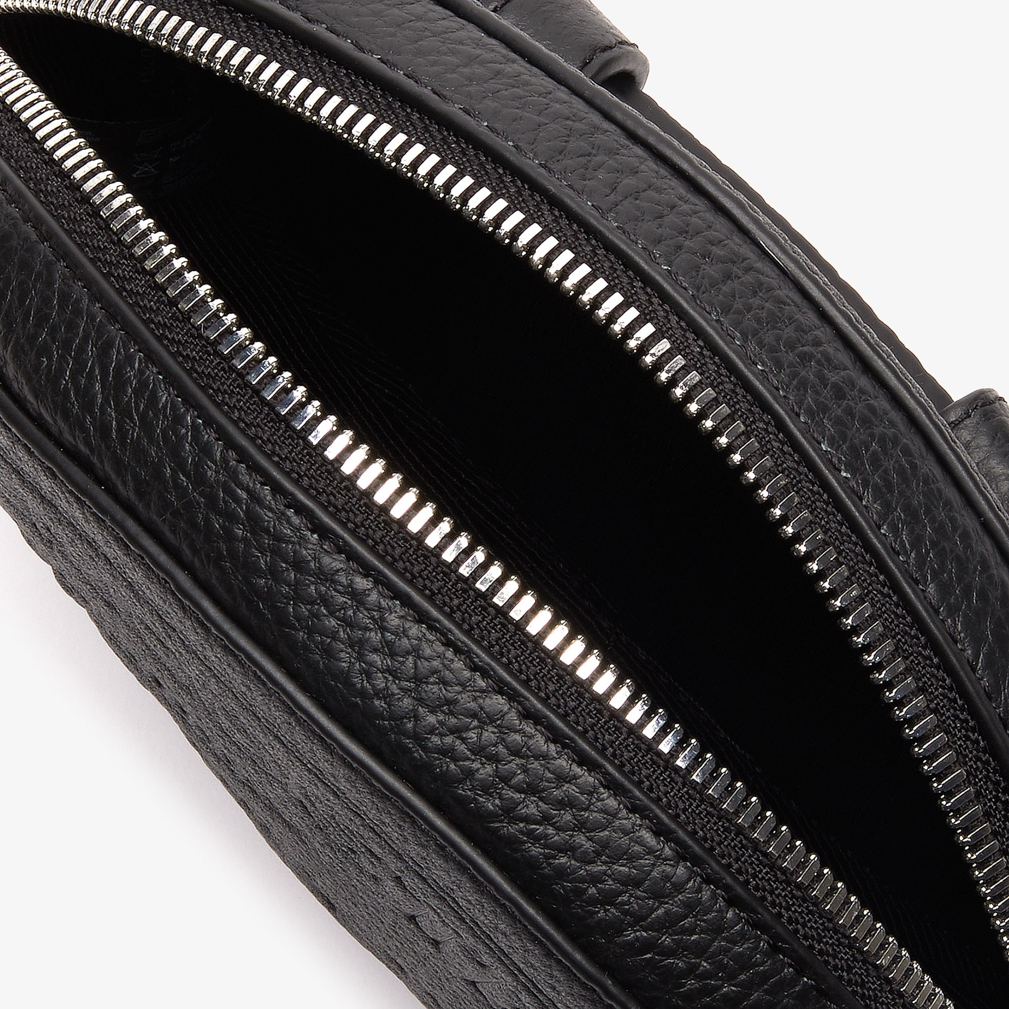 Women's Croco Crew Grained Leather Oval Belt Bag