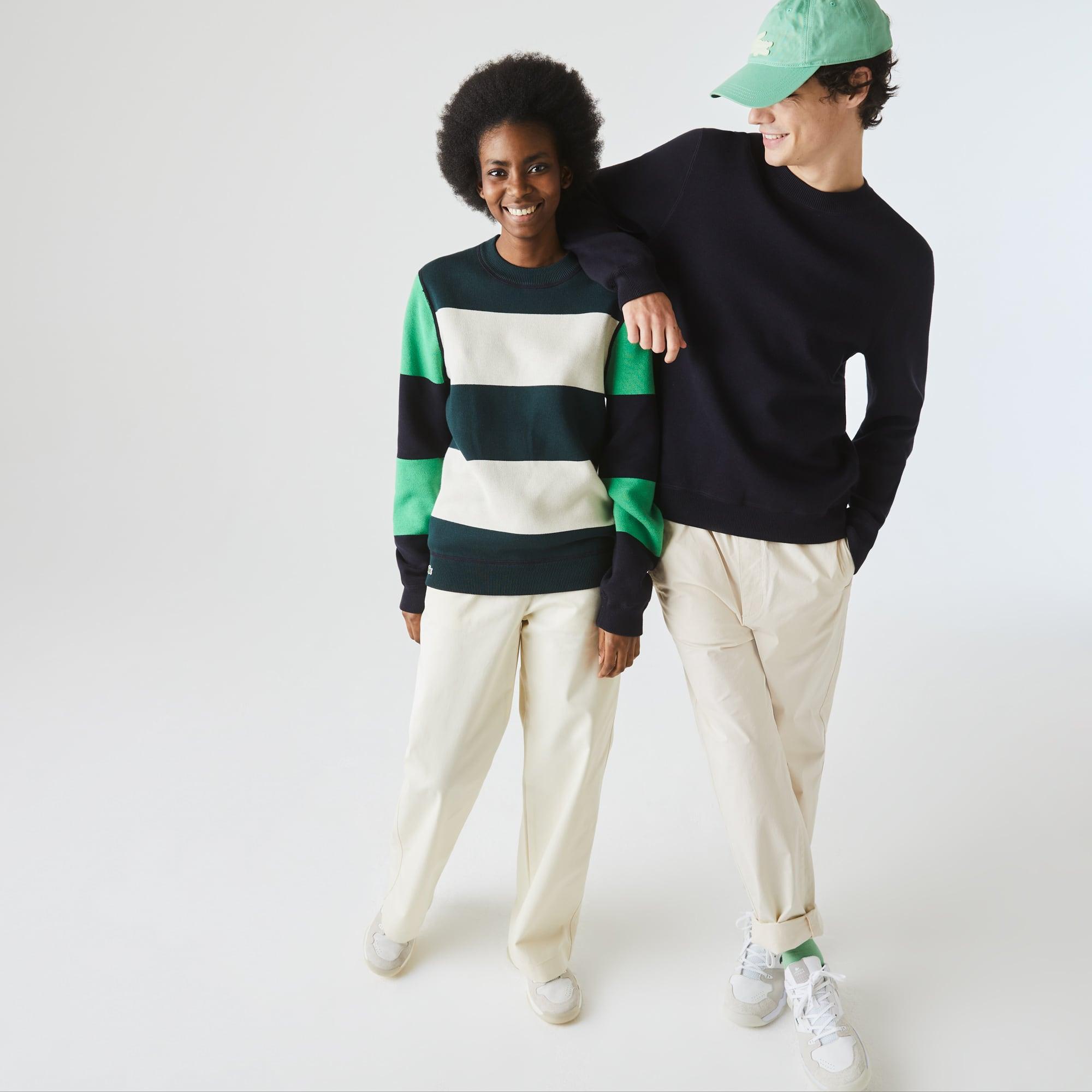 Lacoste Unisex LIVE Reversible Cotton Sweater