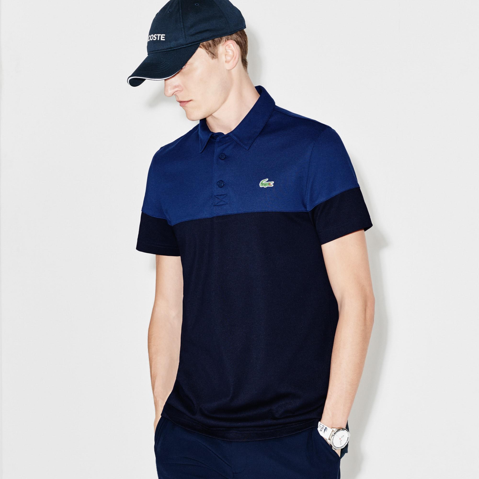 Men's  SPORT Golf Colorblock Technical Piqué Polo