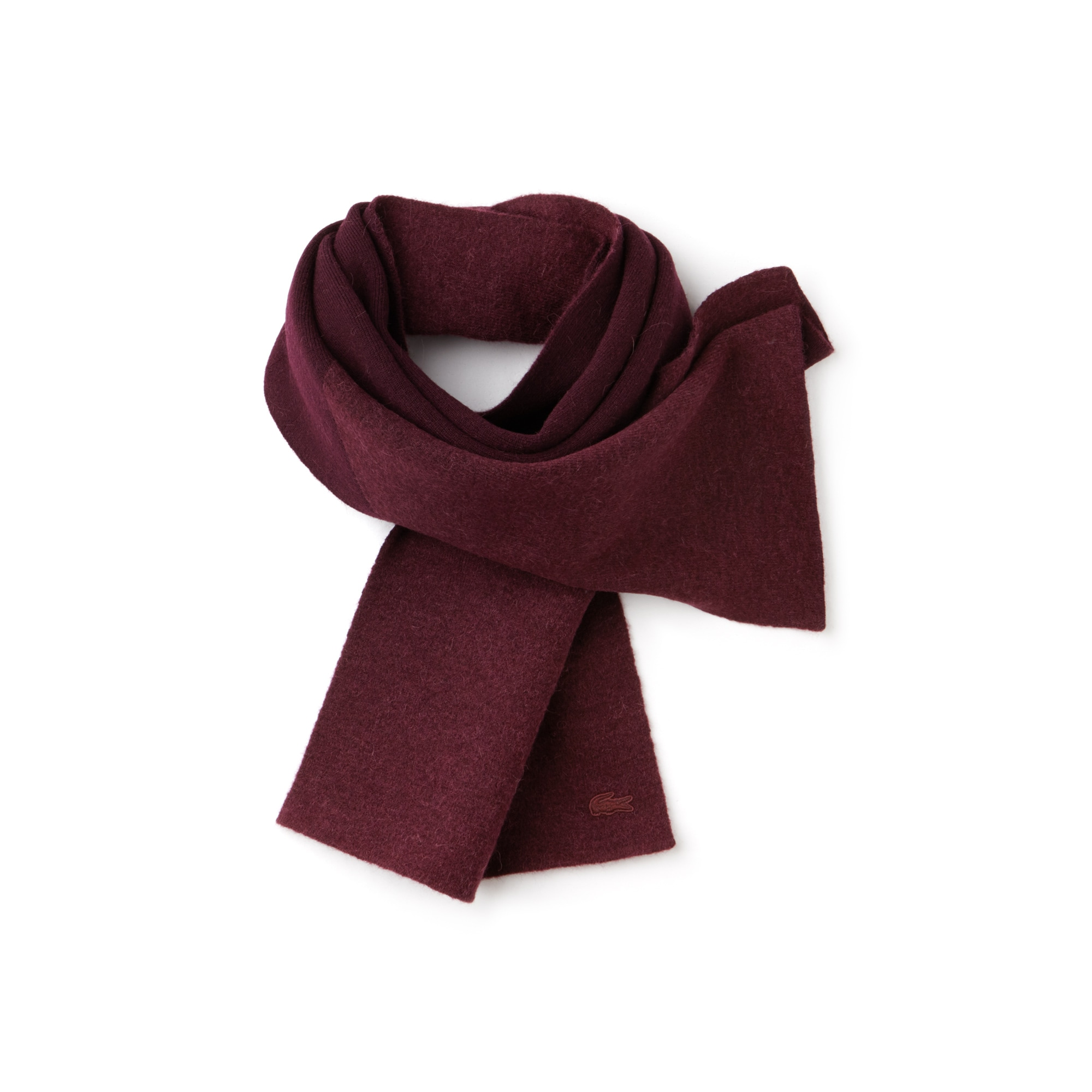 Women's Jacquard Wool And Alpaca Scarf