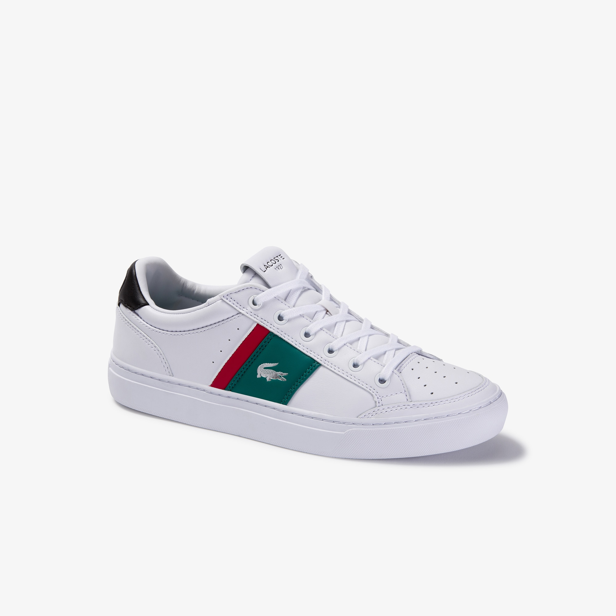 Men's Courtline Perforated Leather Sneakers