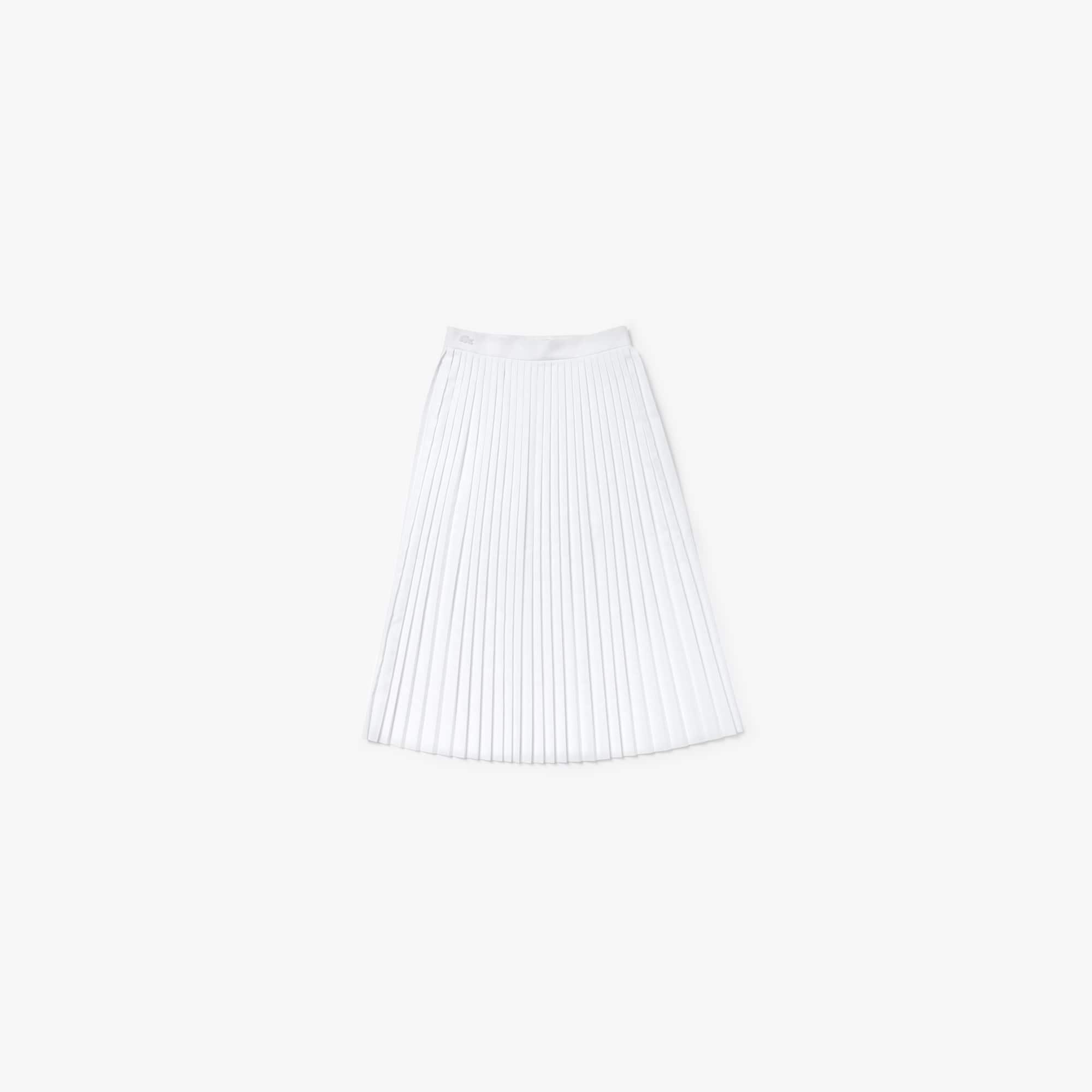 Women's Mid-Length Pleated Skirt