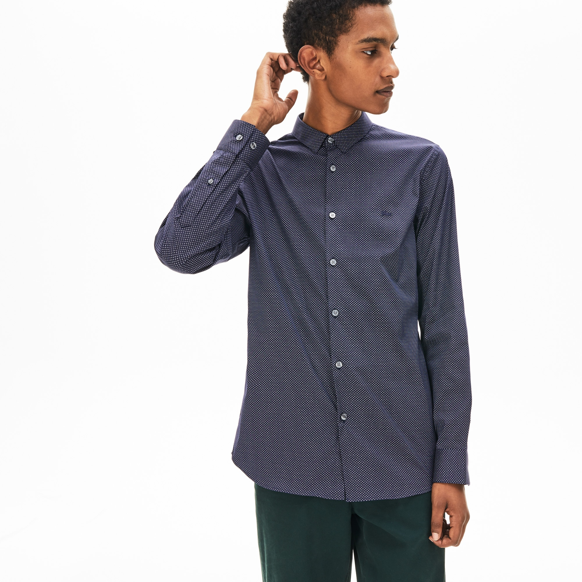 4f8bbe8e1f Button Down Shirts | Men's Fashion | LACOSTE