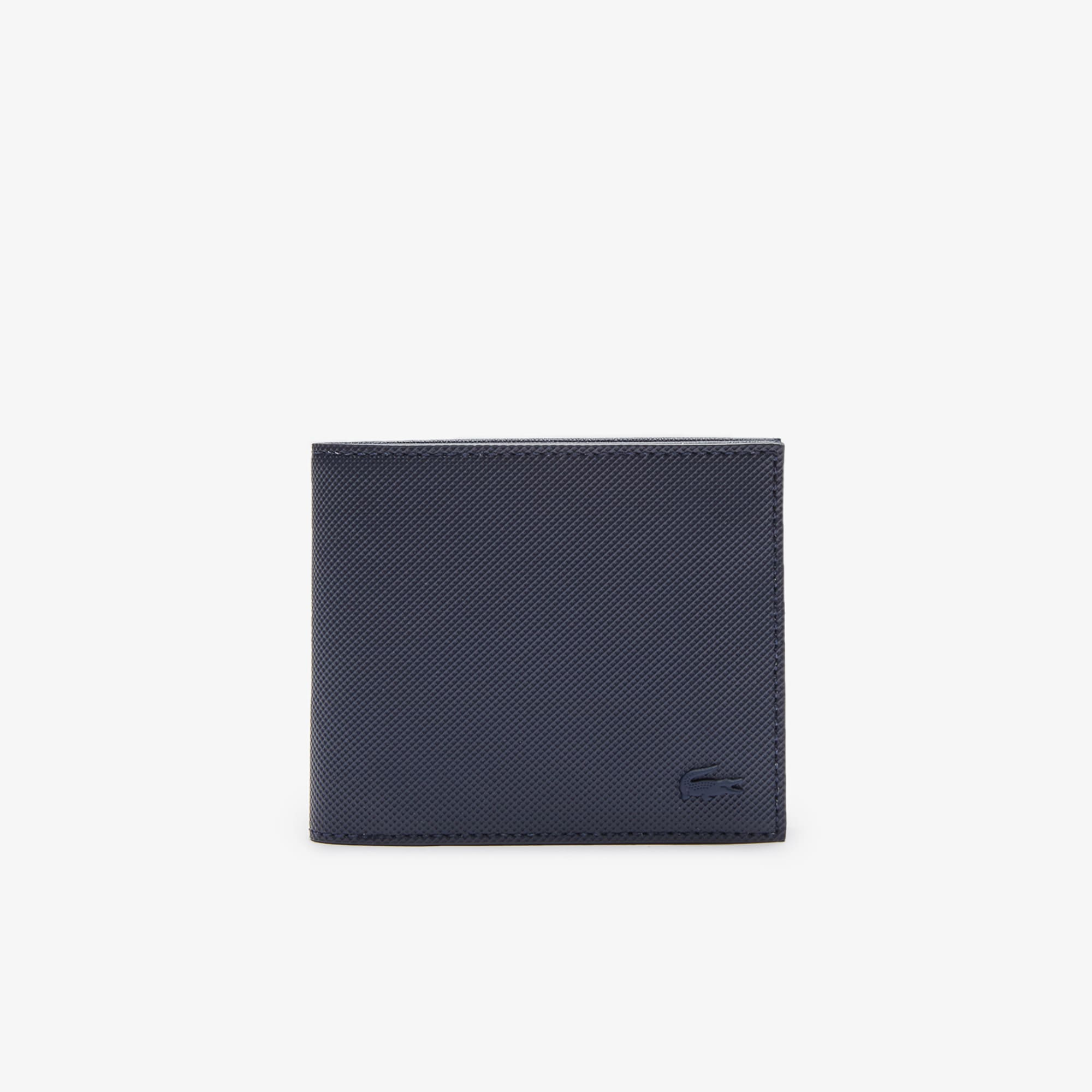 Men's Classic Petit Piqué Three Card Wallet