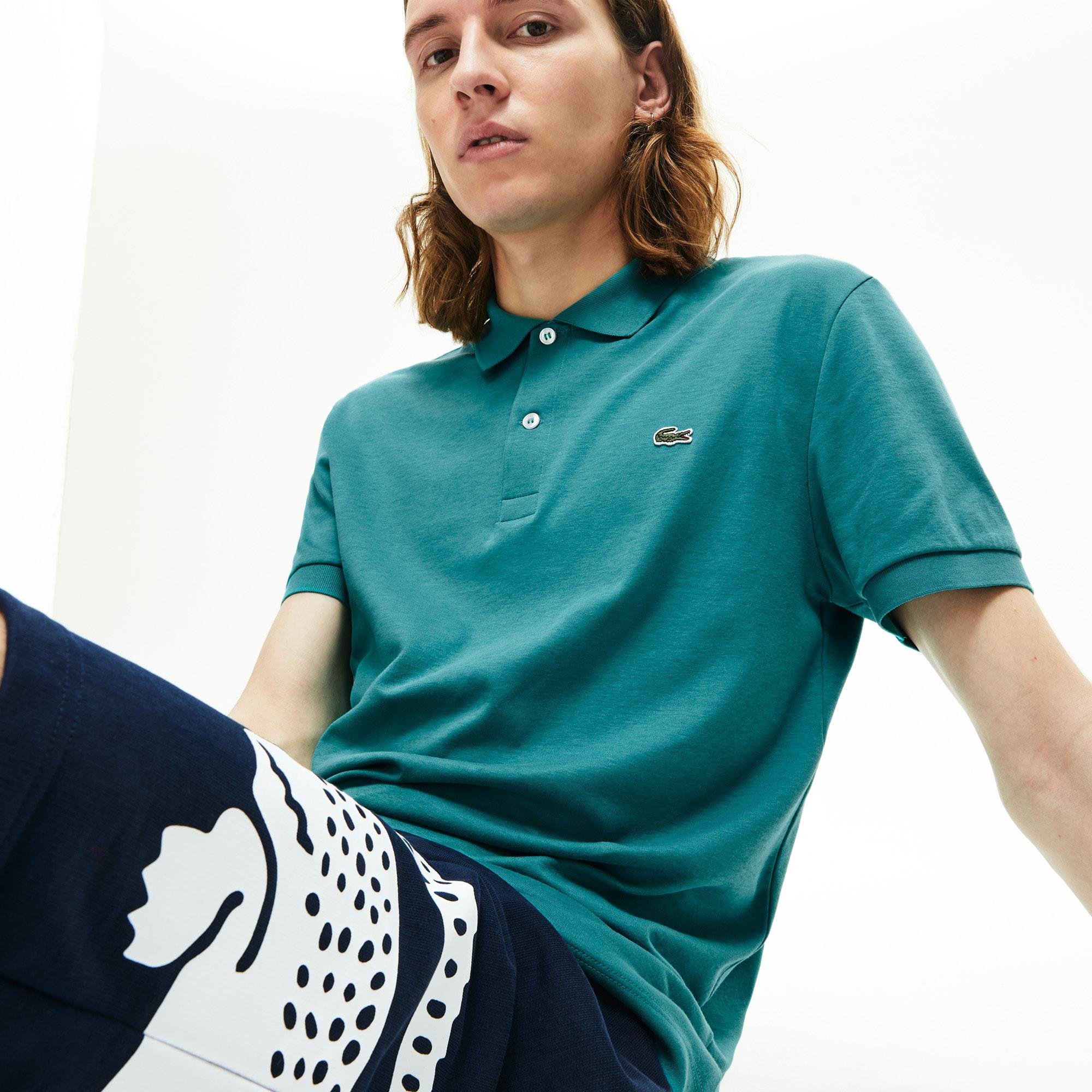 Men's Regular Fit Lightweight Cotton Polo