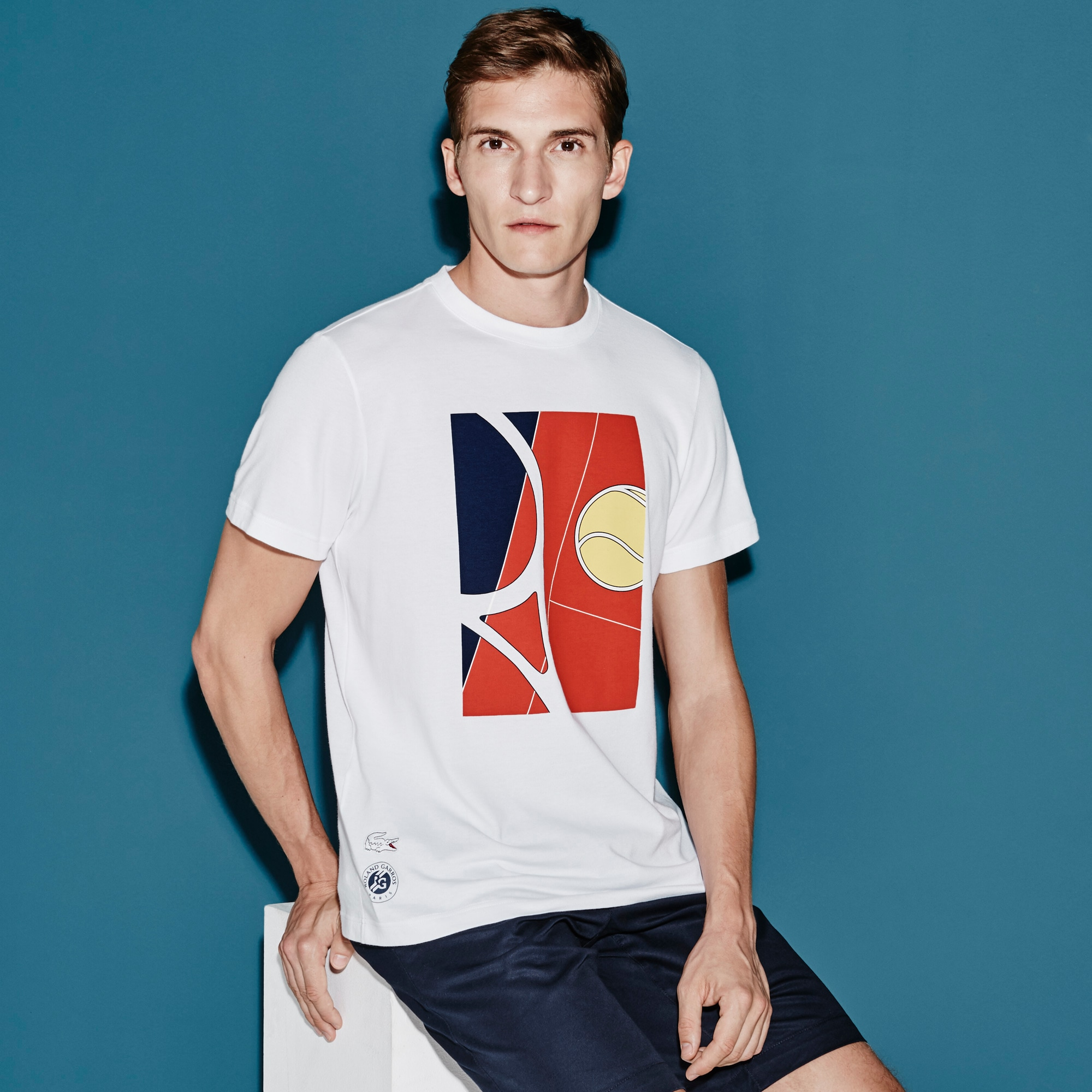 Men's SPORT French Open Player Print T-Shirt