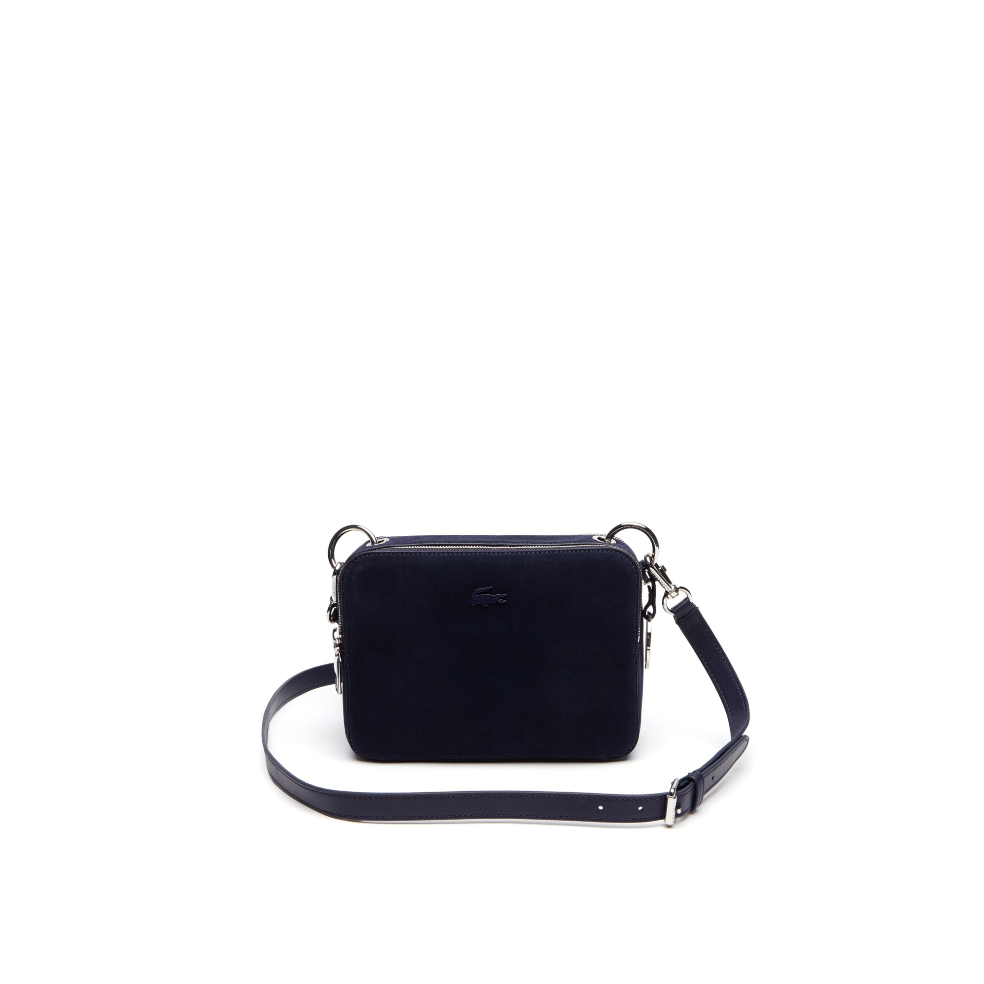 Women's Off The Court Suede Leather Square Crossover Bag