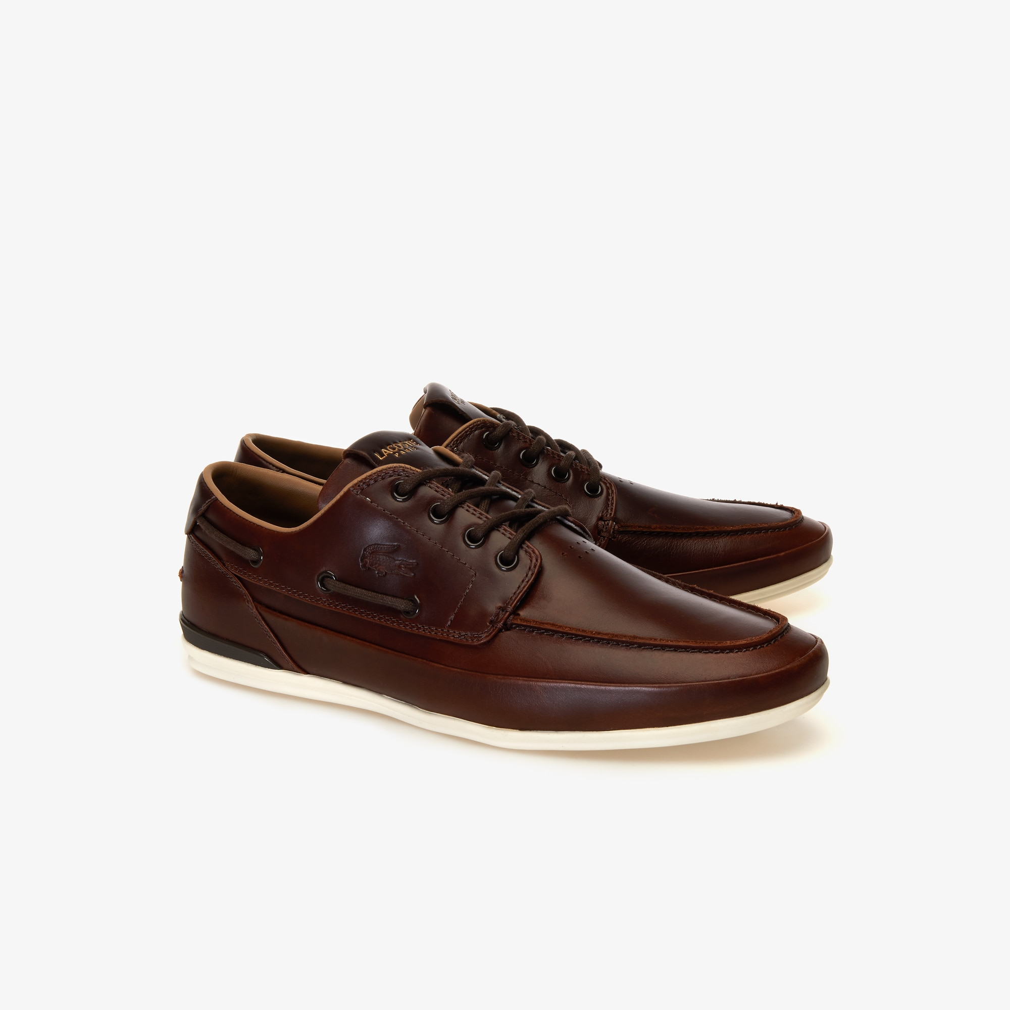 Men's Marina Premium Leather Deck Shoes