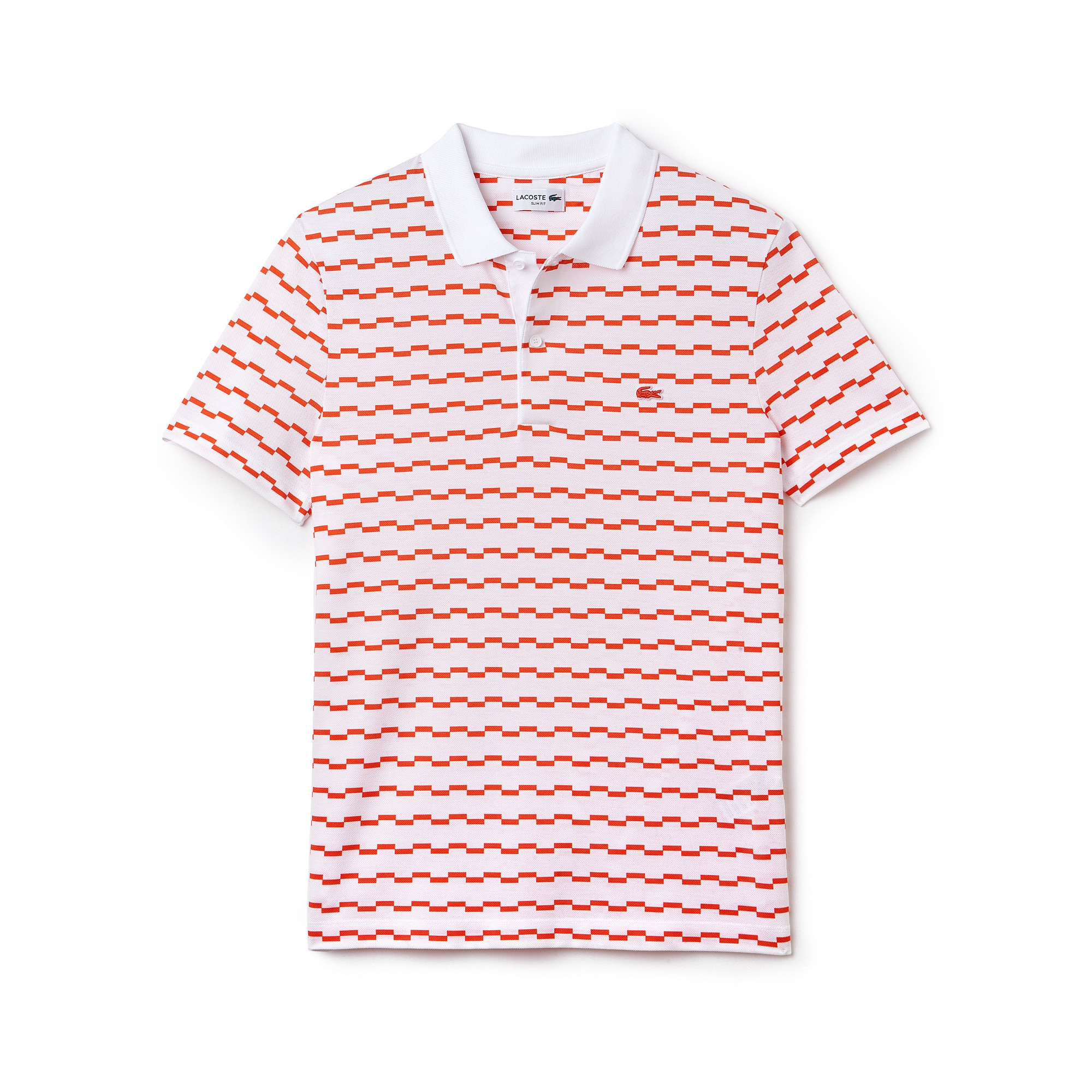Men's Robert George Irregular Stripe Polo Shirt