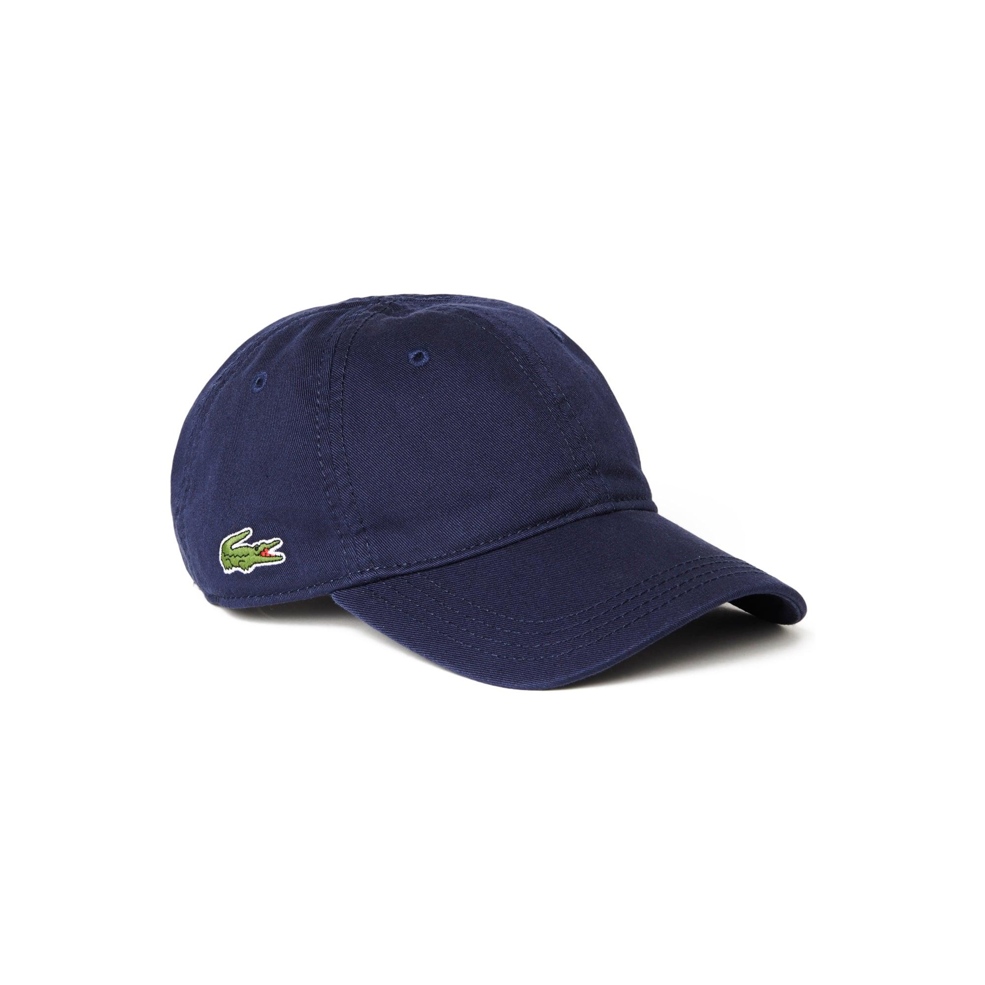 라코스테 Lacoste Mens Gabardine Cap,navy blue