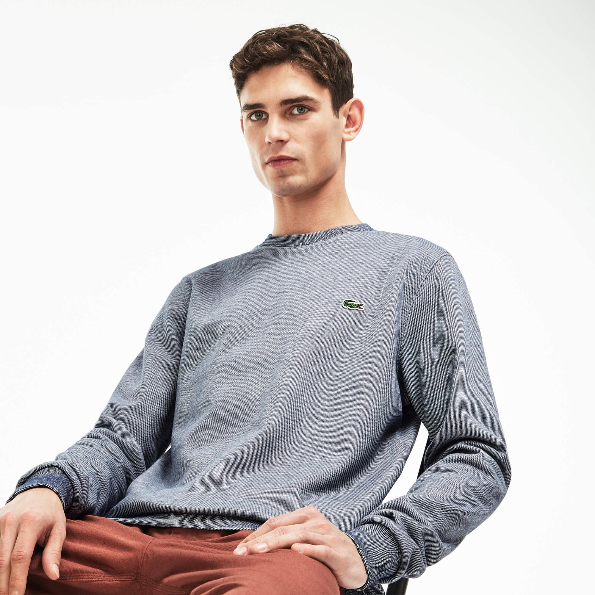 Men's Crew Neck Brushed Sweatshirt