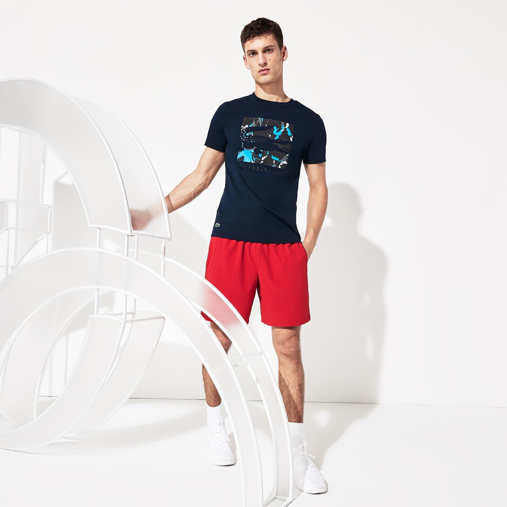 Men's SPORT Novak Djokovic Camo Croc Logo T-Shirt