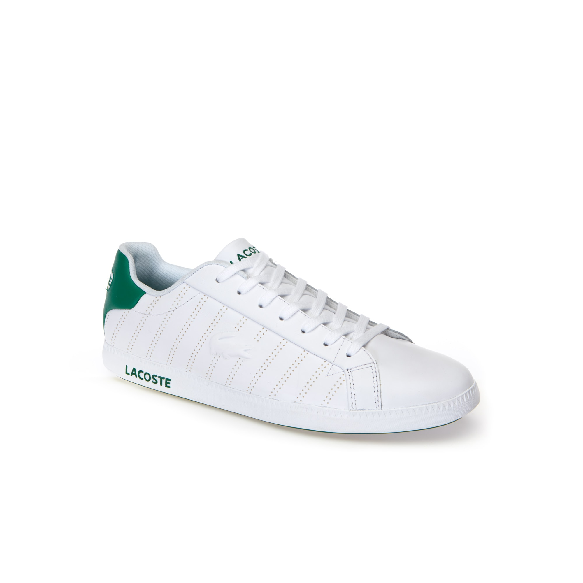 Lacoste MEN'S GRADUATE NAPPA LEATHER TRAINERS 1giEPjlB