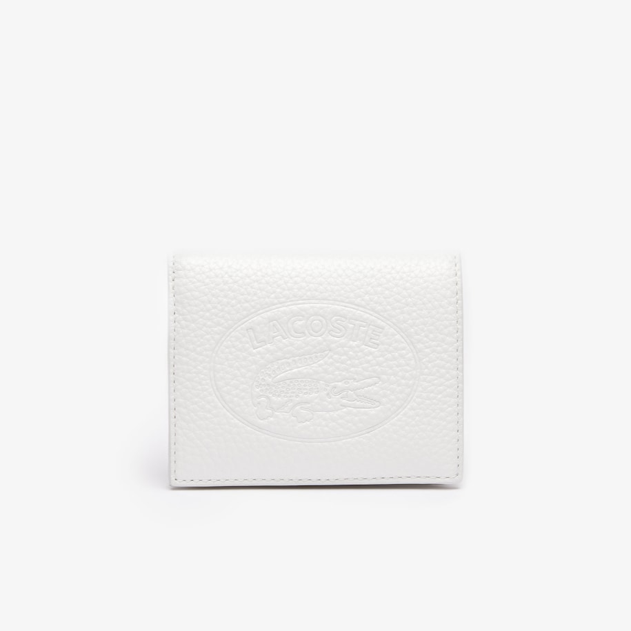 Women's Croco Crew Grained Leather Snap Wallet
