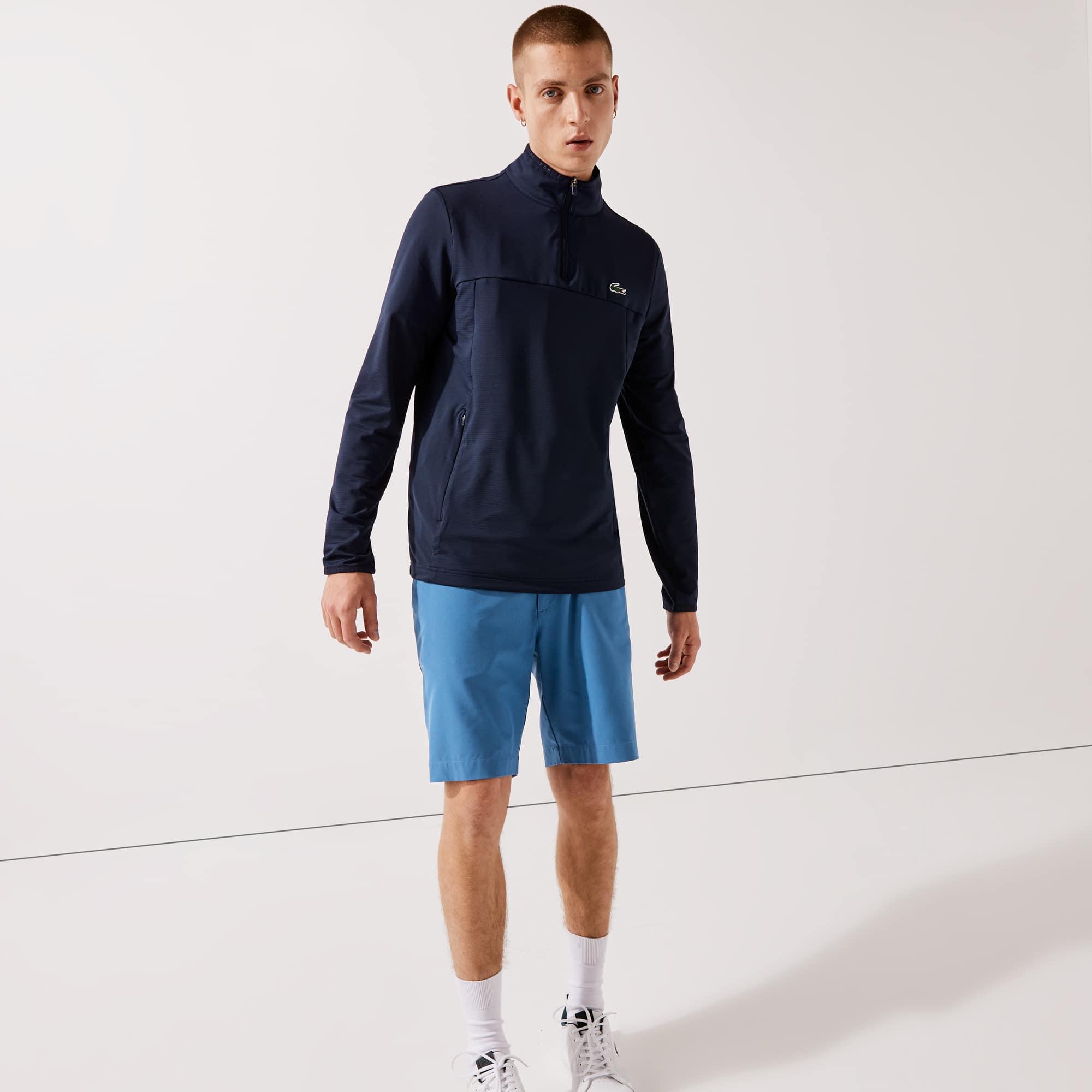 라코스테 맨 스포츠 맨투맨 Lacoste Mens SPORT Stretch Zippered Collar Sweatshirt