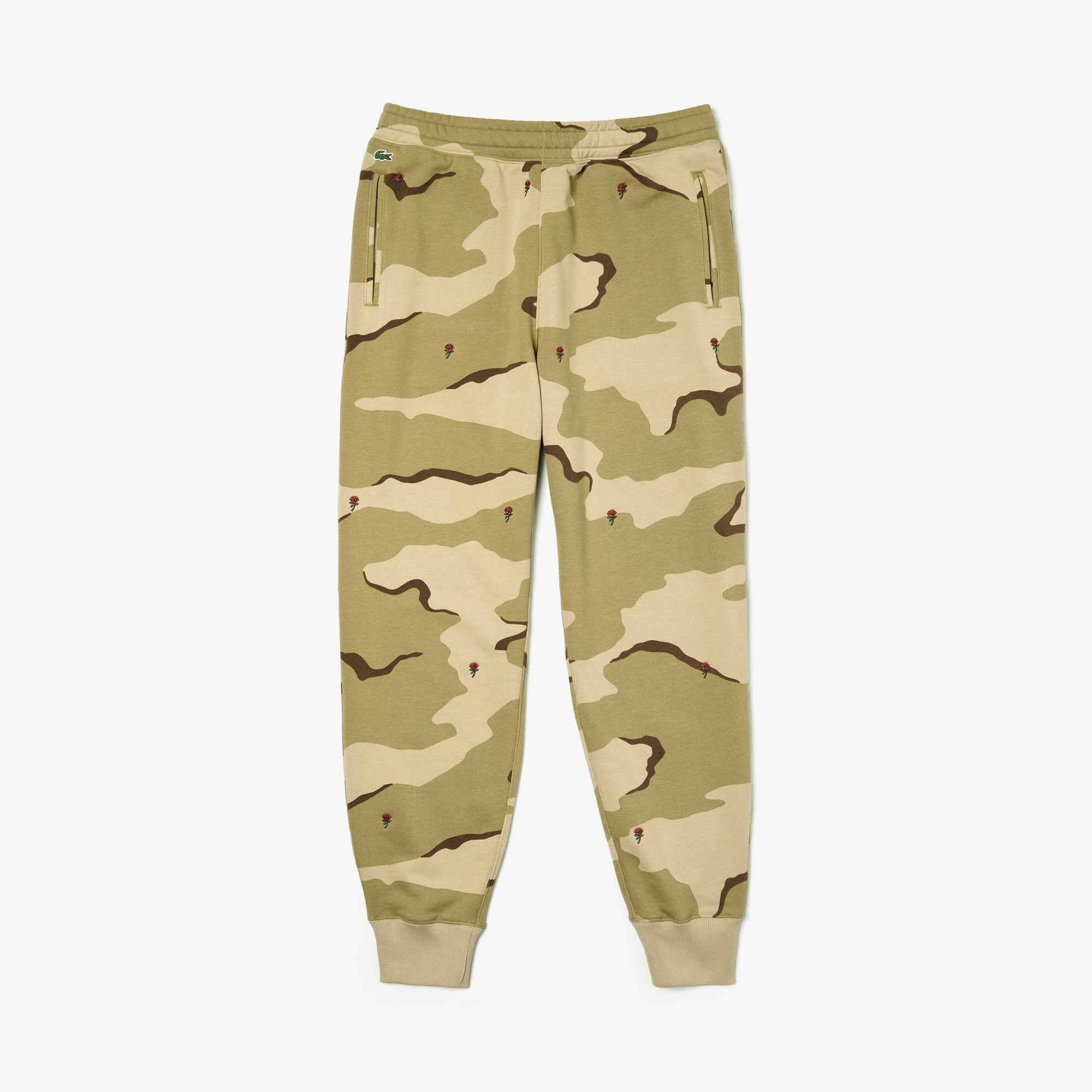 Men's Live Rose Embroidered Camo Sweatpant