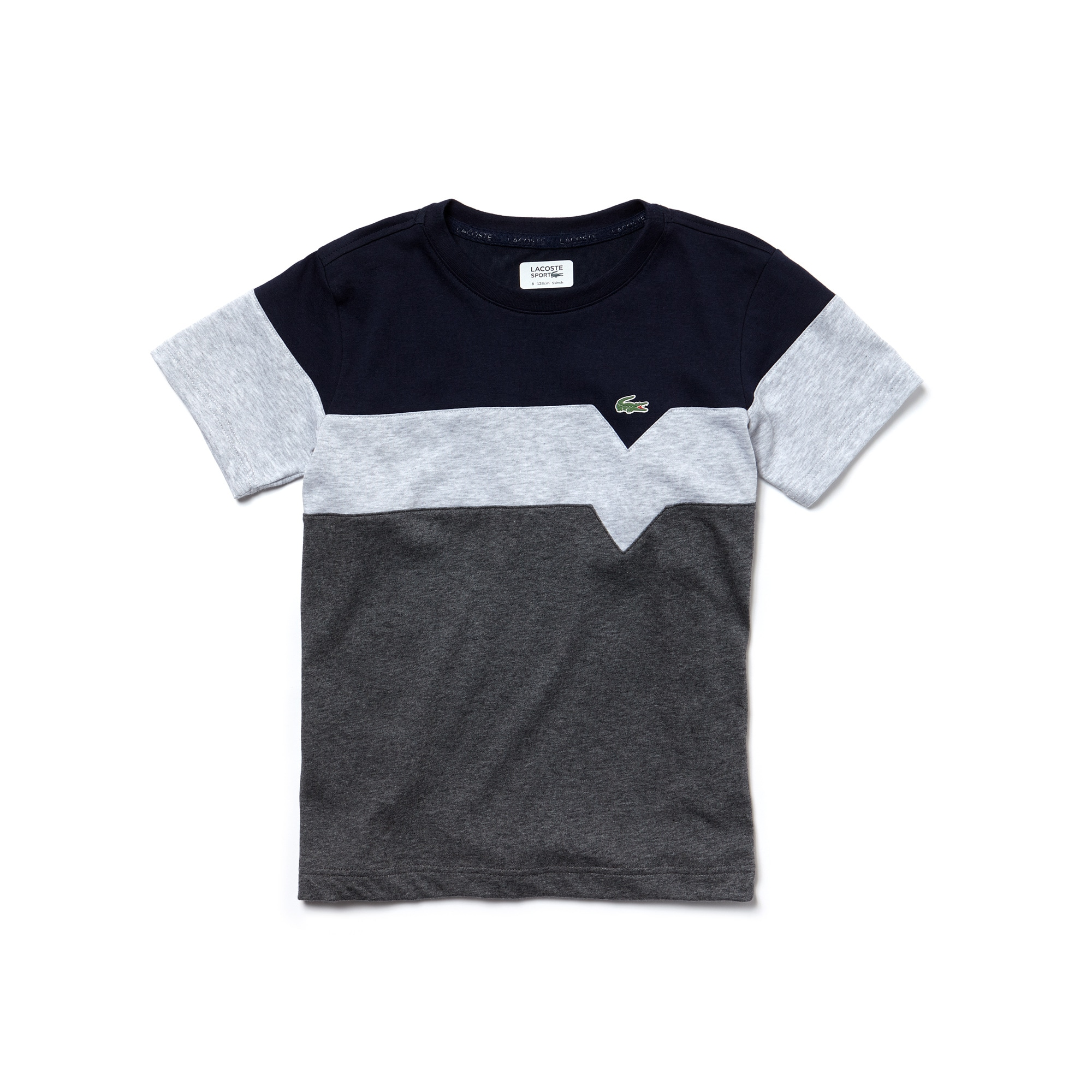 Boys'  SPORT Tennis Colorblock Tech Jersey T-shirt
