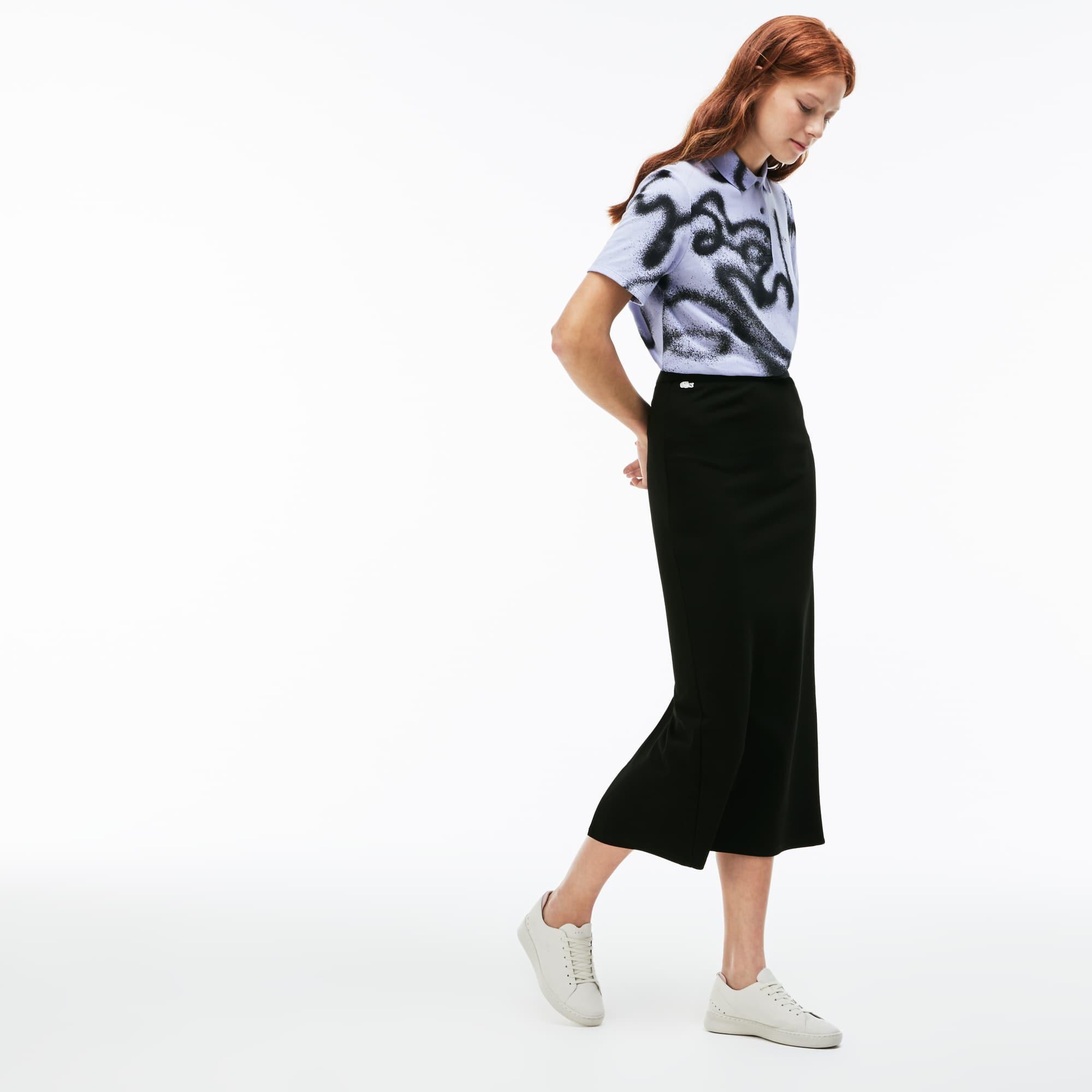 Women's LIVE Contrast Long Skirt