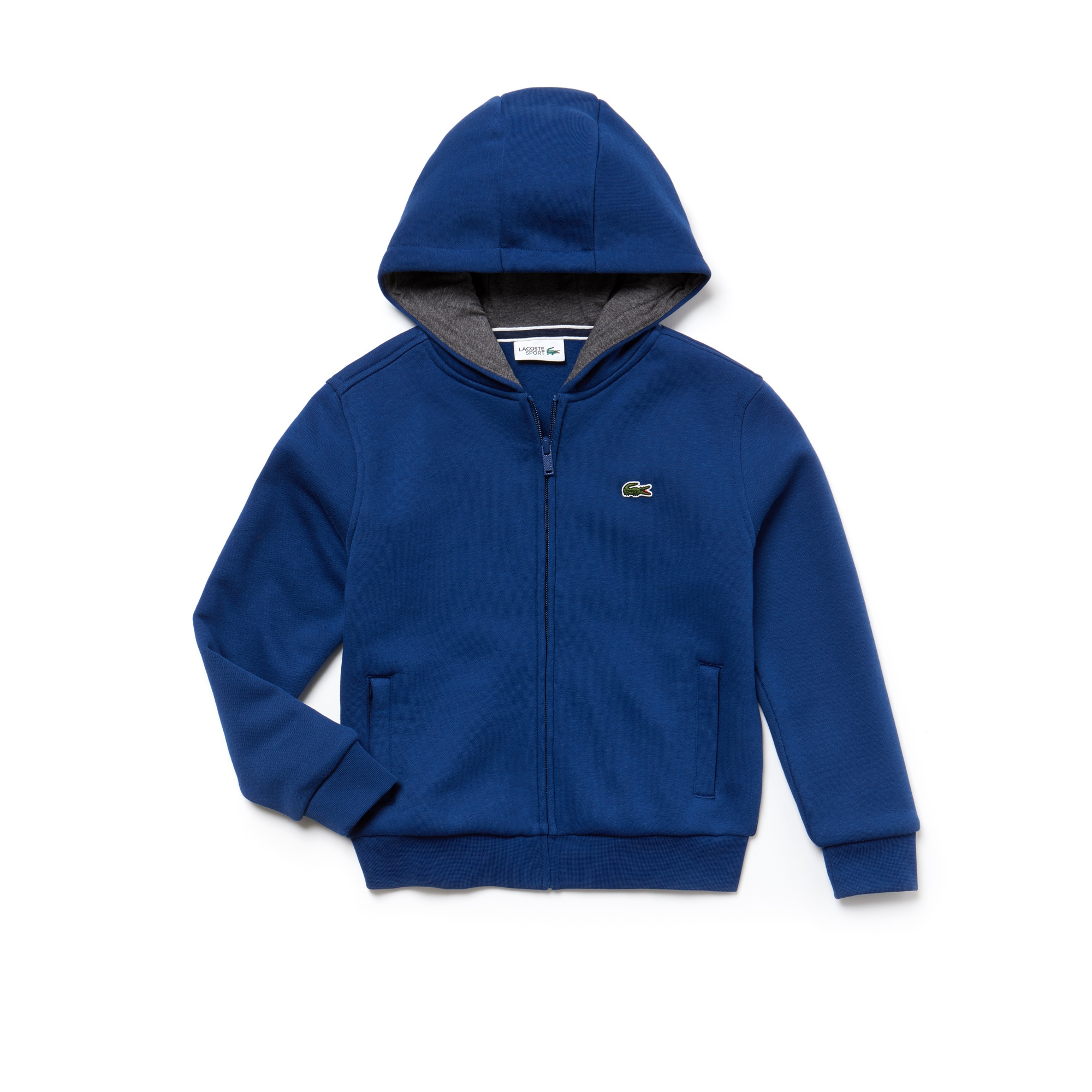 Kid's Sport Tennis Zippered Fleece Sweatshirt