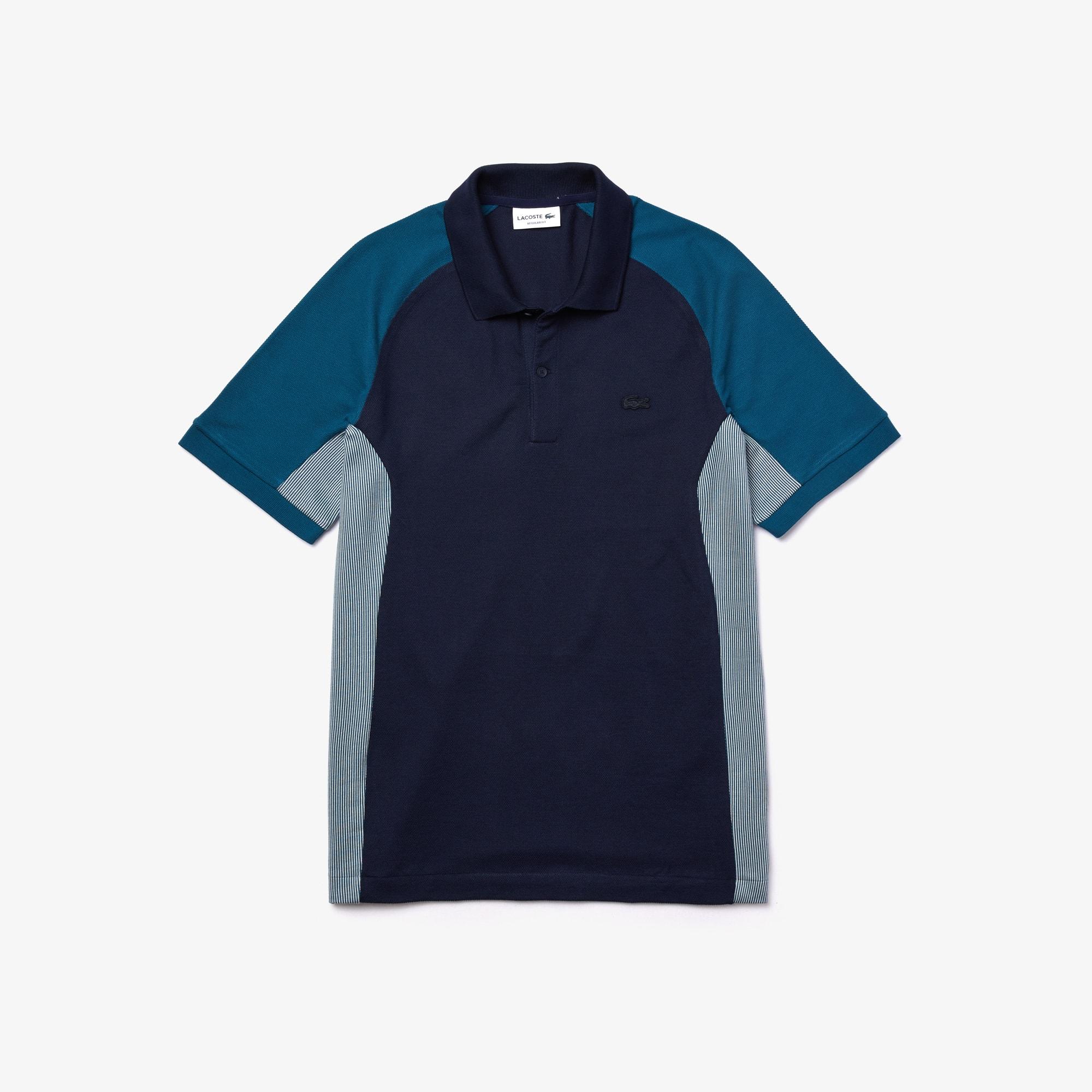 Choose SZ//color Details about  /Lacoste Men/'s Short Sleeve Slim Fit Color Block Po