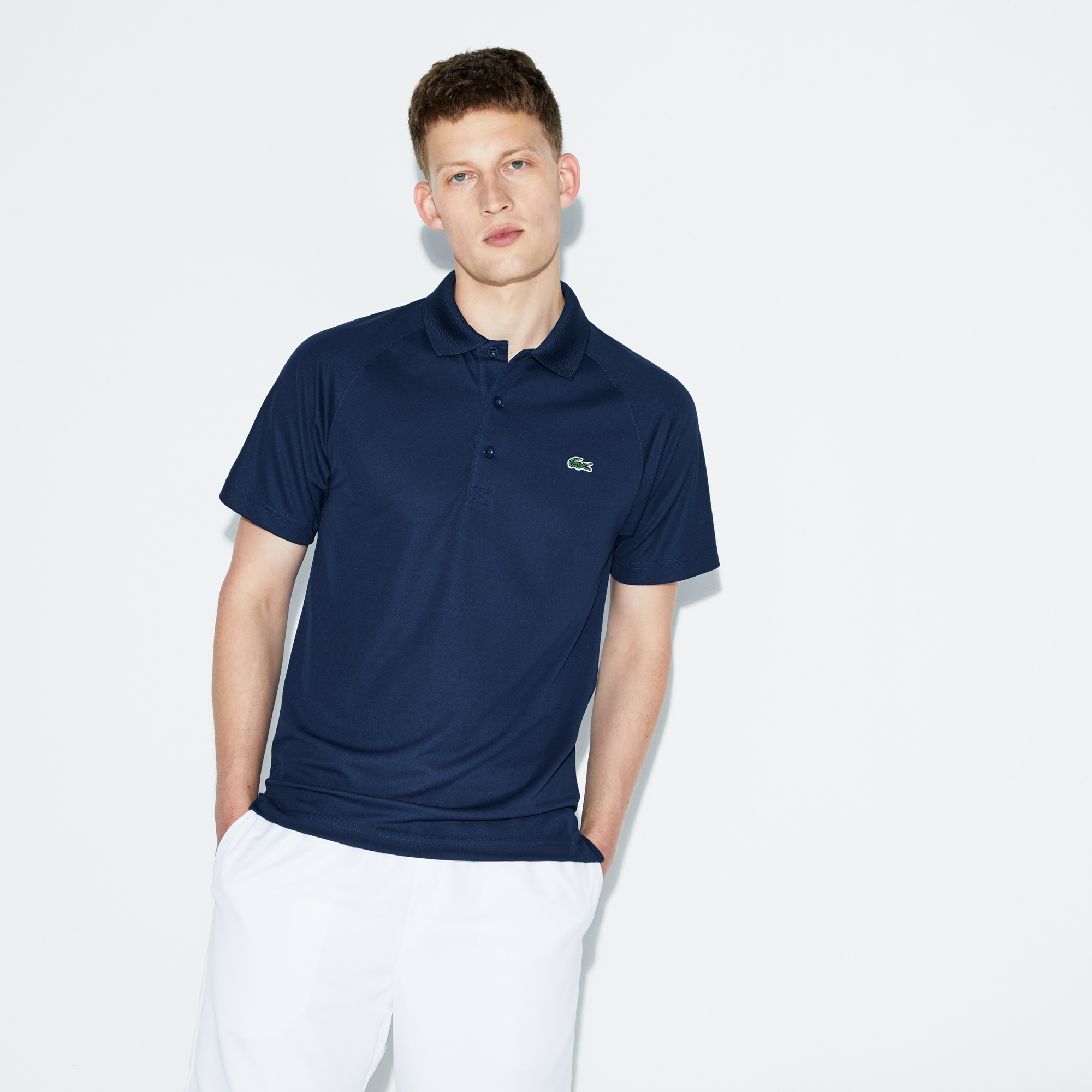 Men's SPORT Technical Piqué Tennis Polo