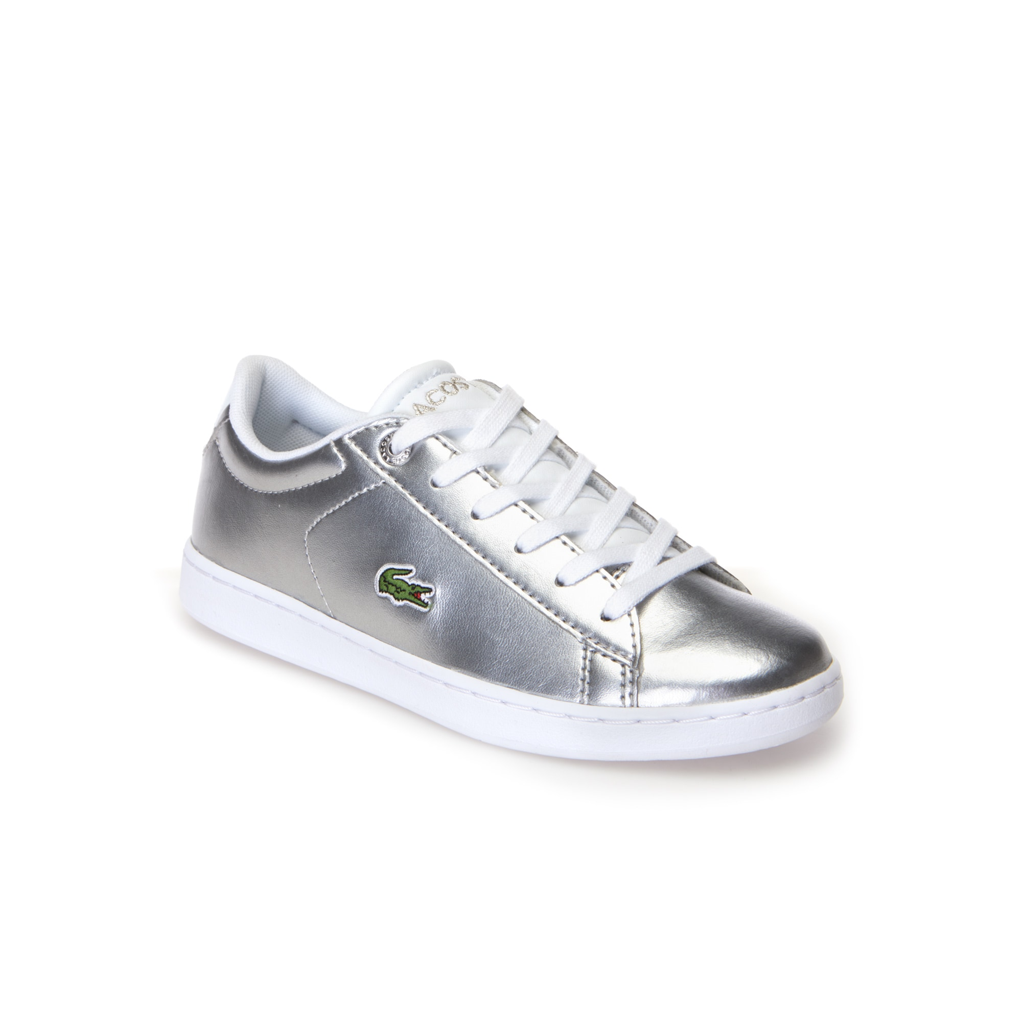 Children's Carnaby Evo Silver Synthetic Trainers