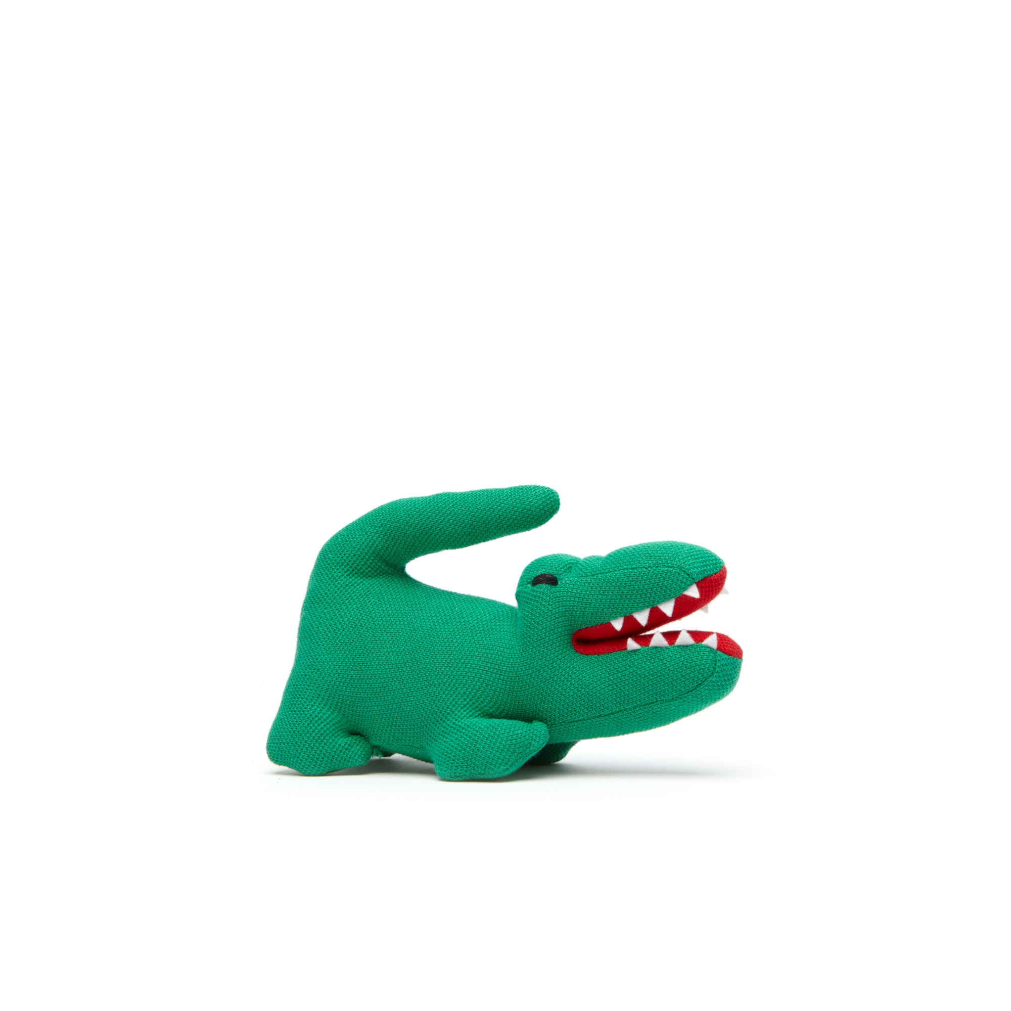 Babies Cotton Piqué Plush Crocodile