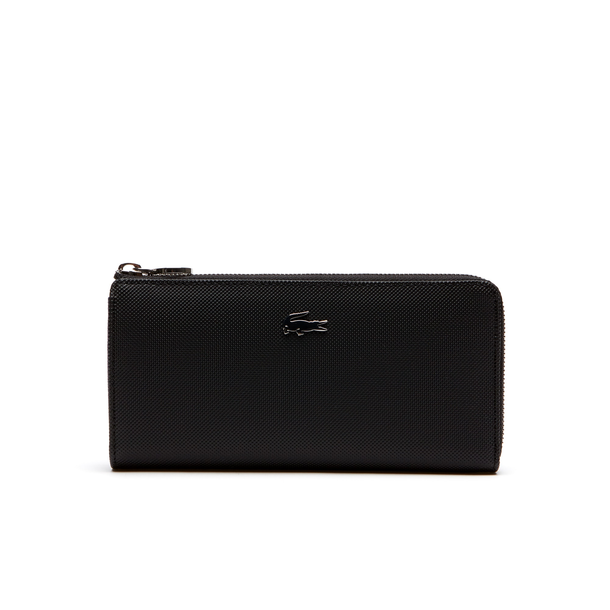 Women's Daily Classic Fine Piqué Grains Zip Wallet