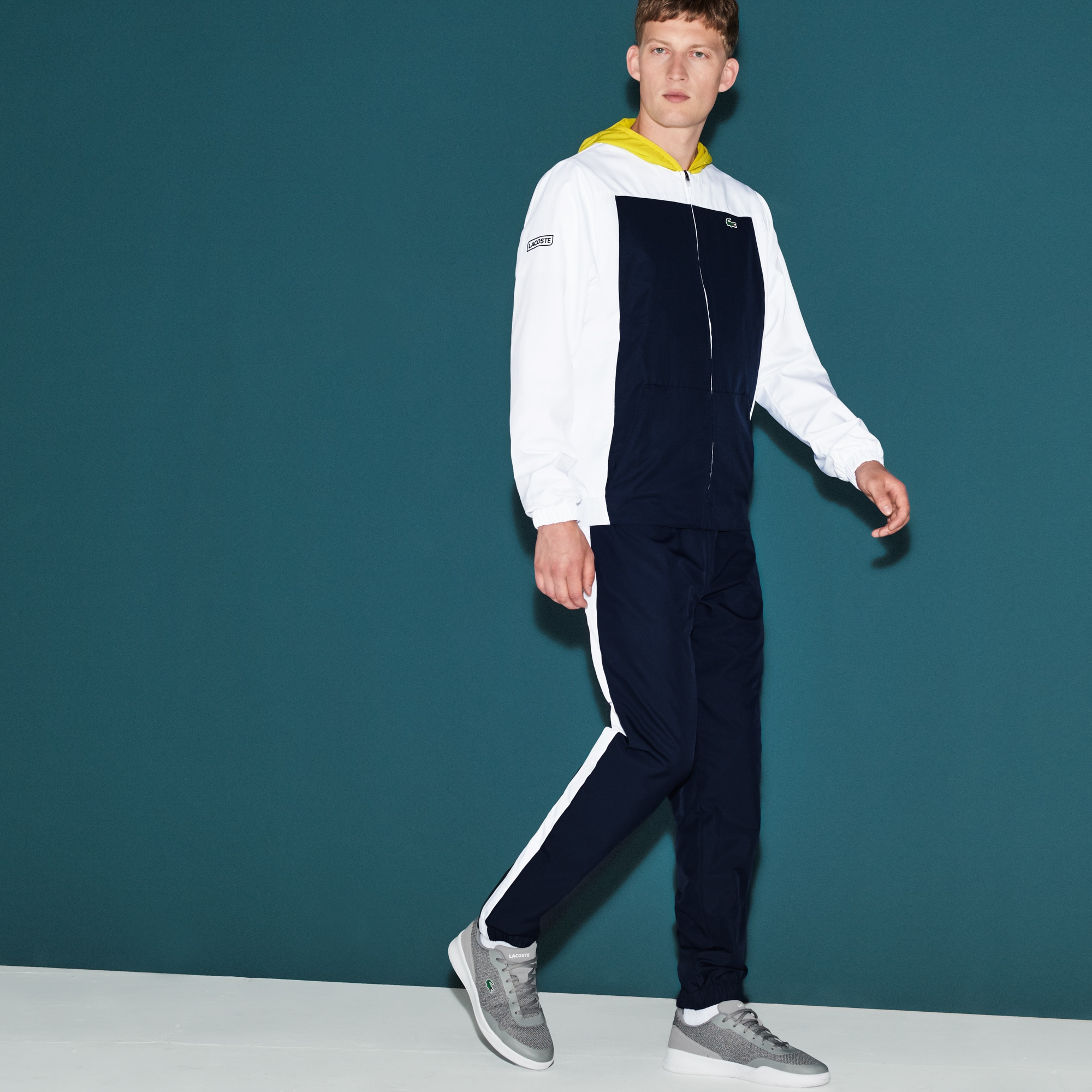 Men's  SPORT Tennis Colorblock Tracksuit
