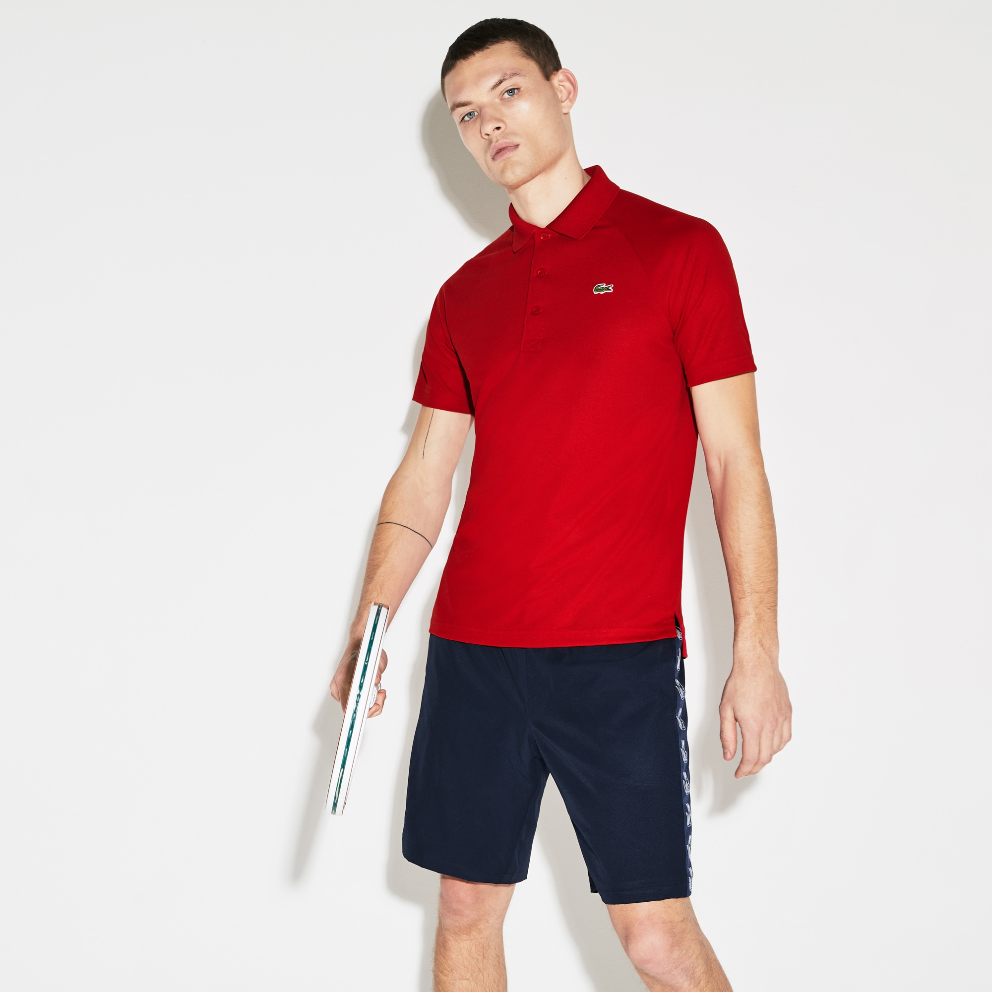 Men's SPORT Breathable Anti-UV Piqué Polo