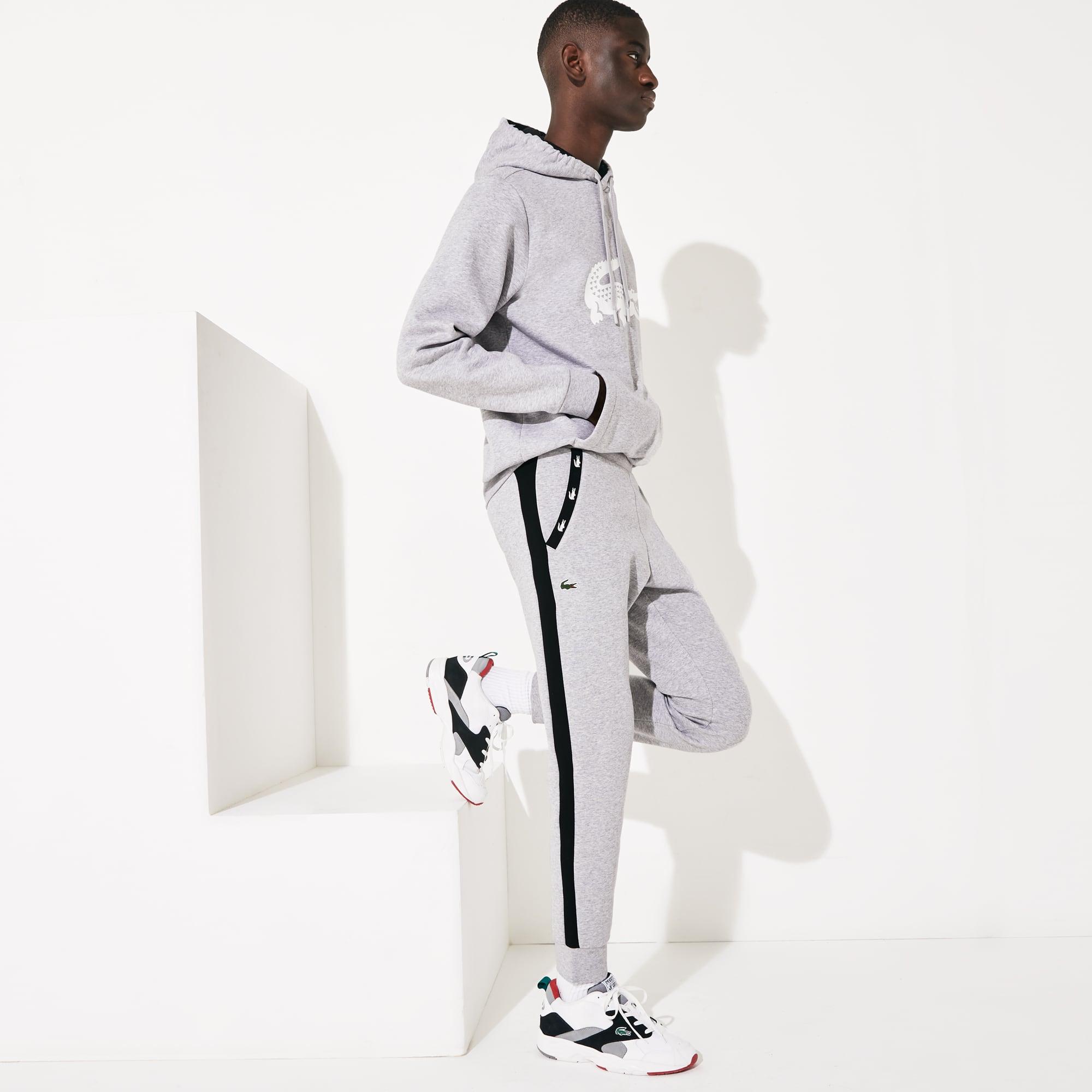 라코스테 Lacoste Men's SPORT Colorblock Fleece Sweatpants