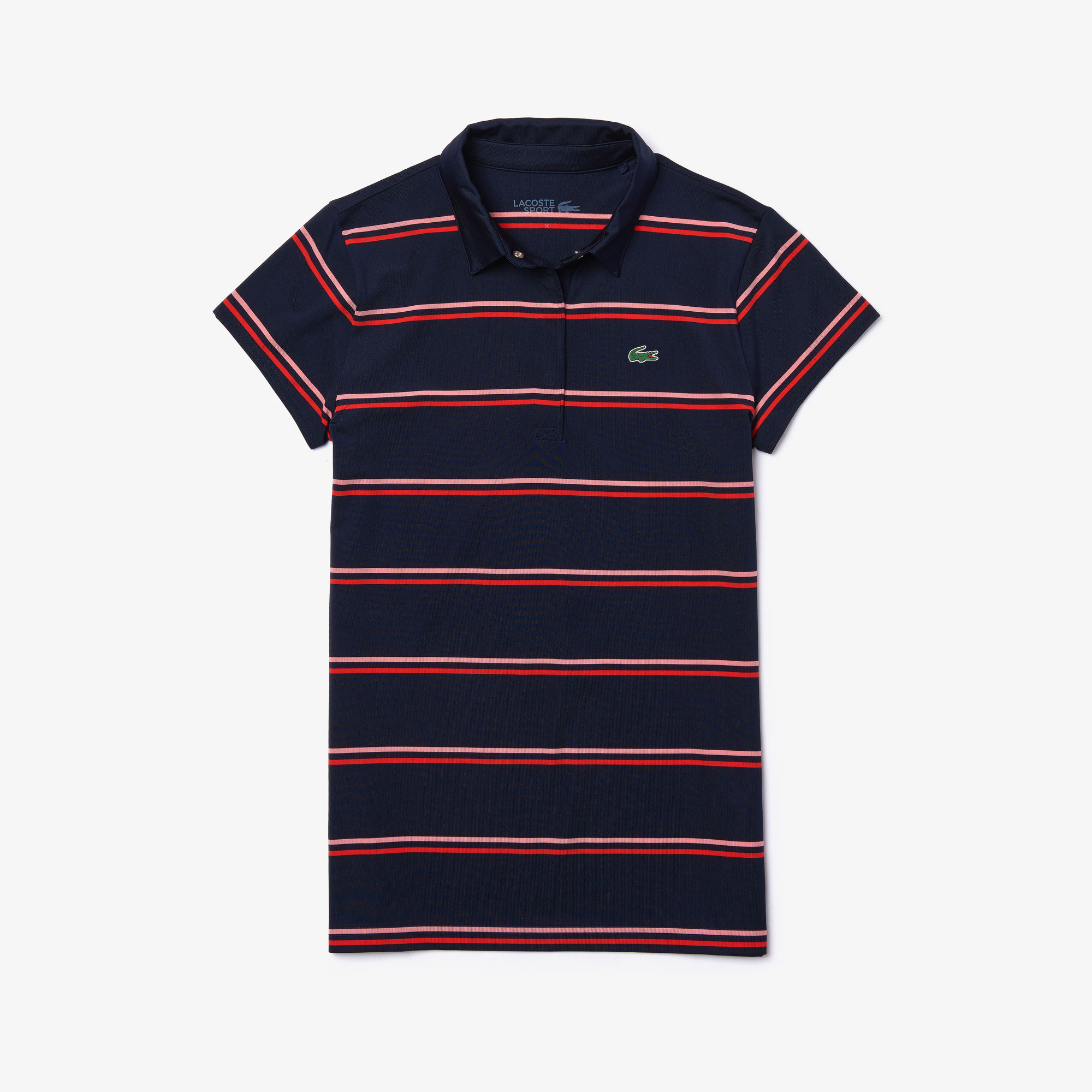 Lacoste Tops Women's SPORT Breathable Stretch Jersey Golf Polo
