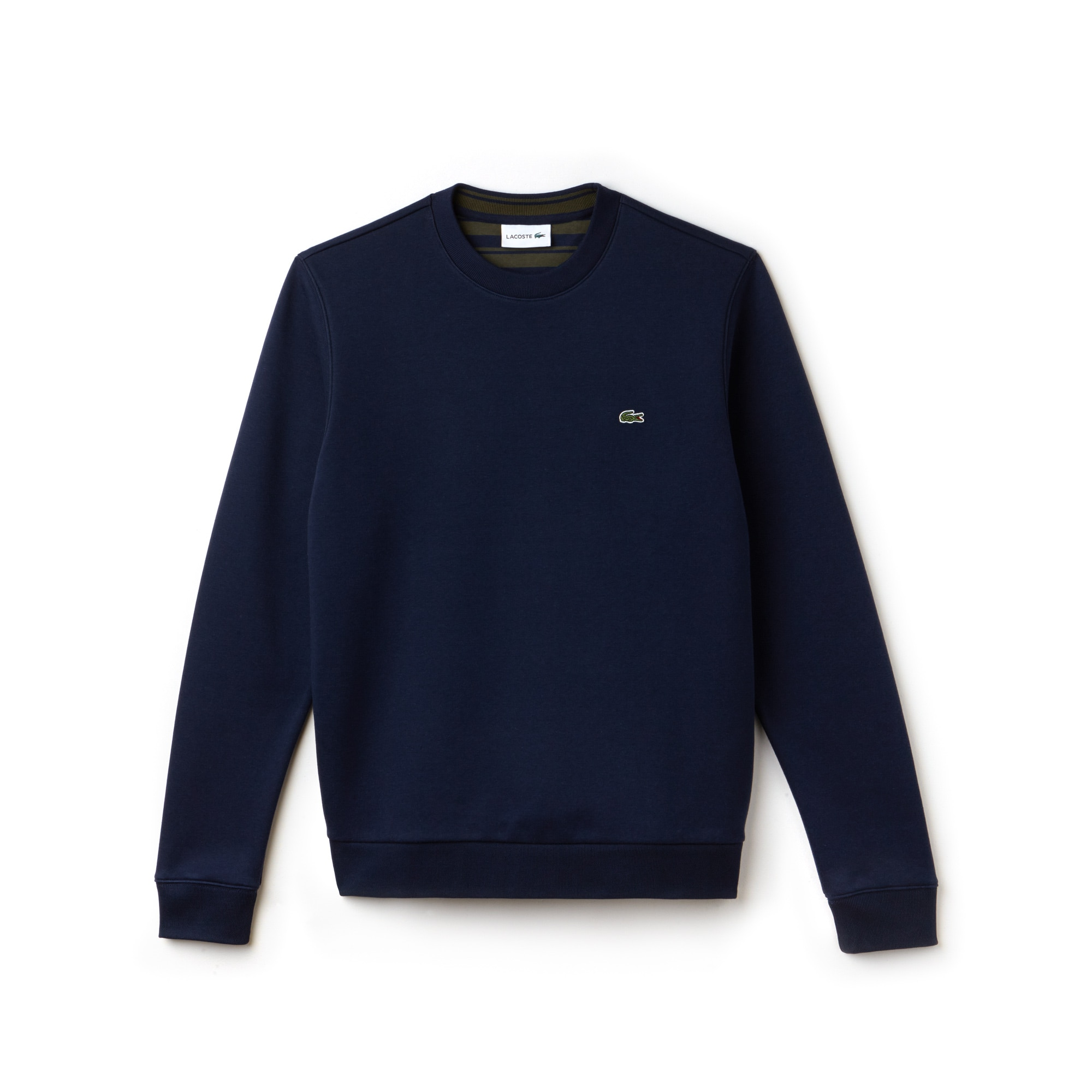 Men's Crew Neck Cotton Fleece Sweatshirt