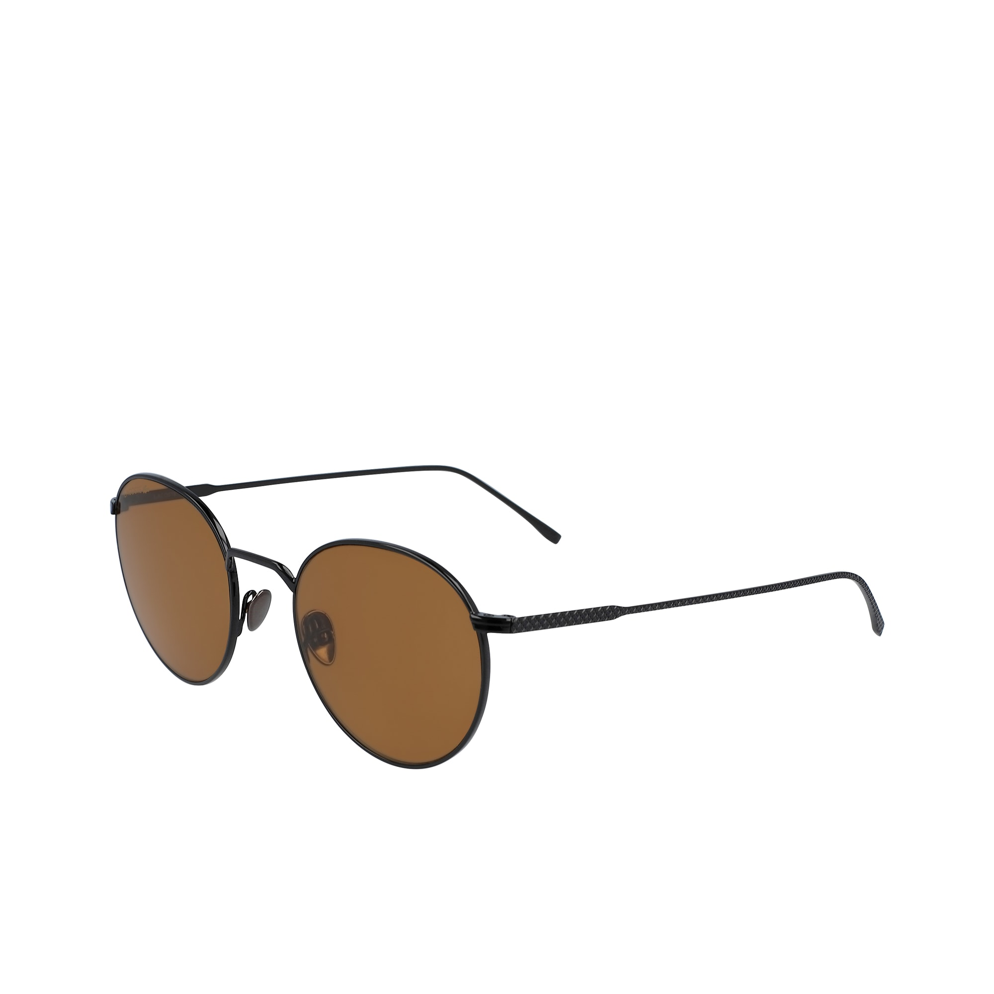 Round Metal Ultra Thin Sunglasses by Lacoste