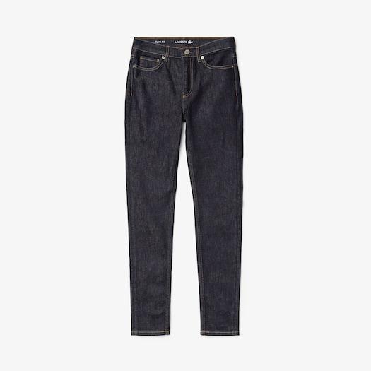 라코스테 우먼 스키니 스트레치 데님 진 Lacoste Womens Skinny Stretch Cotton Jeans