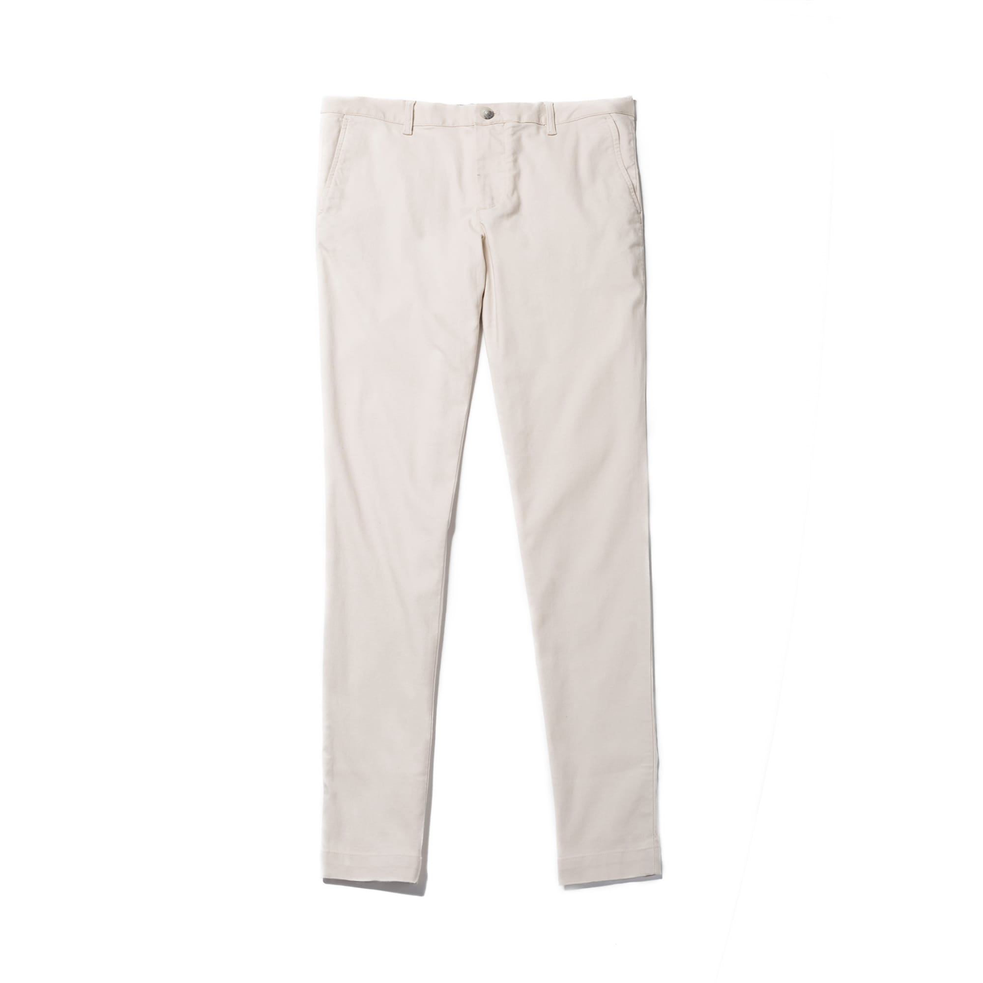 Men's Slim Fit Stretch Cotton Piqué Chino Pants