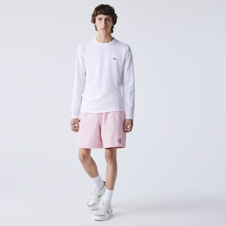 라코스테 크루넥 티셔츠 Lacoste Mens Crew Neck Pima Cotton Jersey T-shirt,White