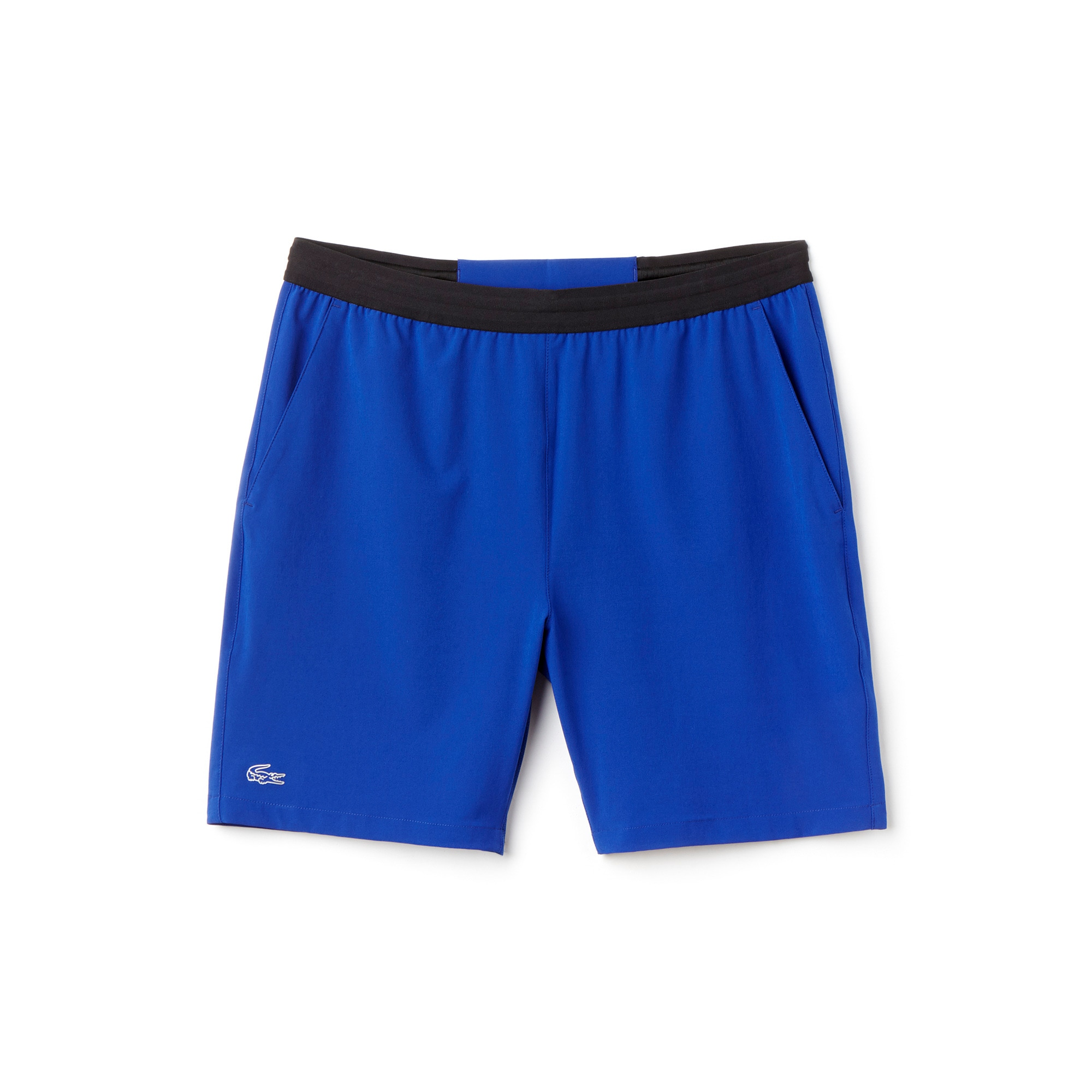Men's SPORT Contrast Waistband Stretch Tennis Shorts