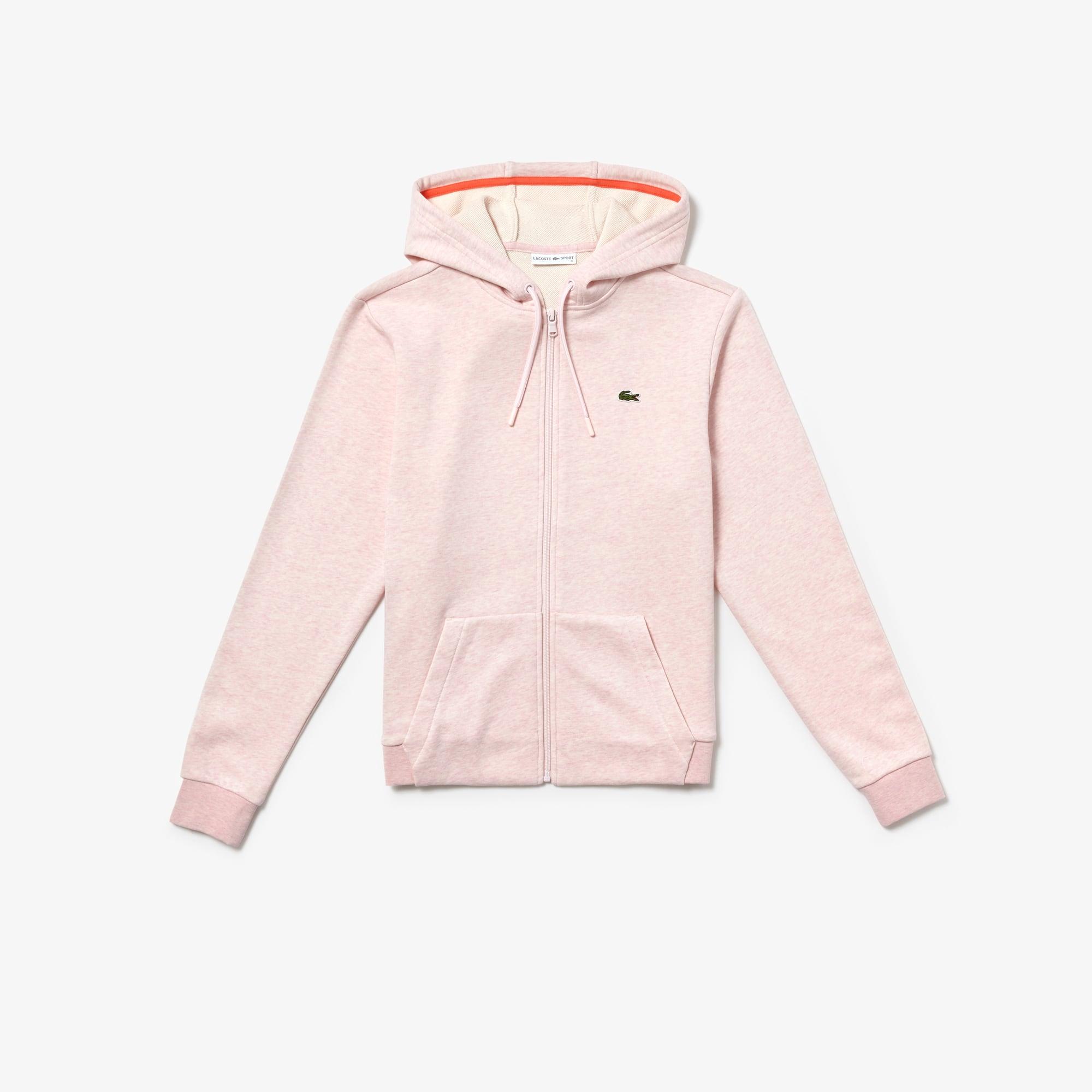 Women's  SPORT Tennis Hooded Zippered Fleece Sweatshirt