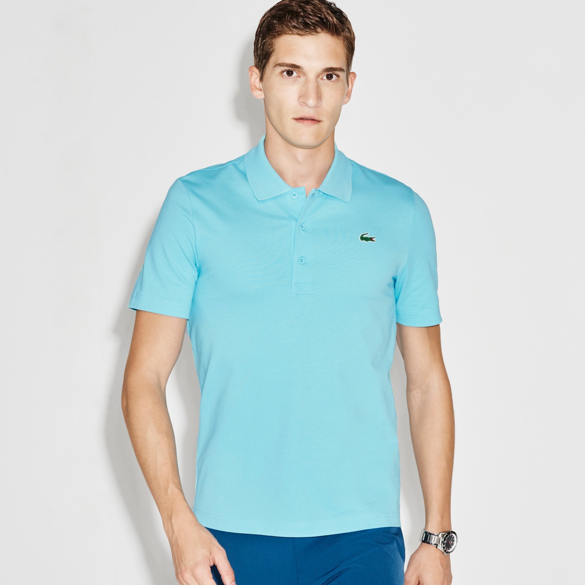 Men's Lacoste SPORT Golf Stretch Cotton Polo